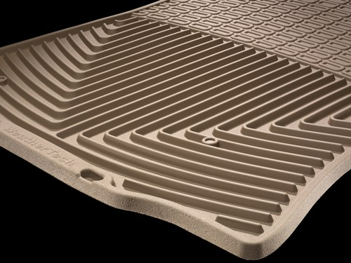 Deep channels on the All-Weather Floor Mat