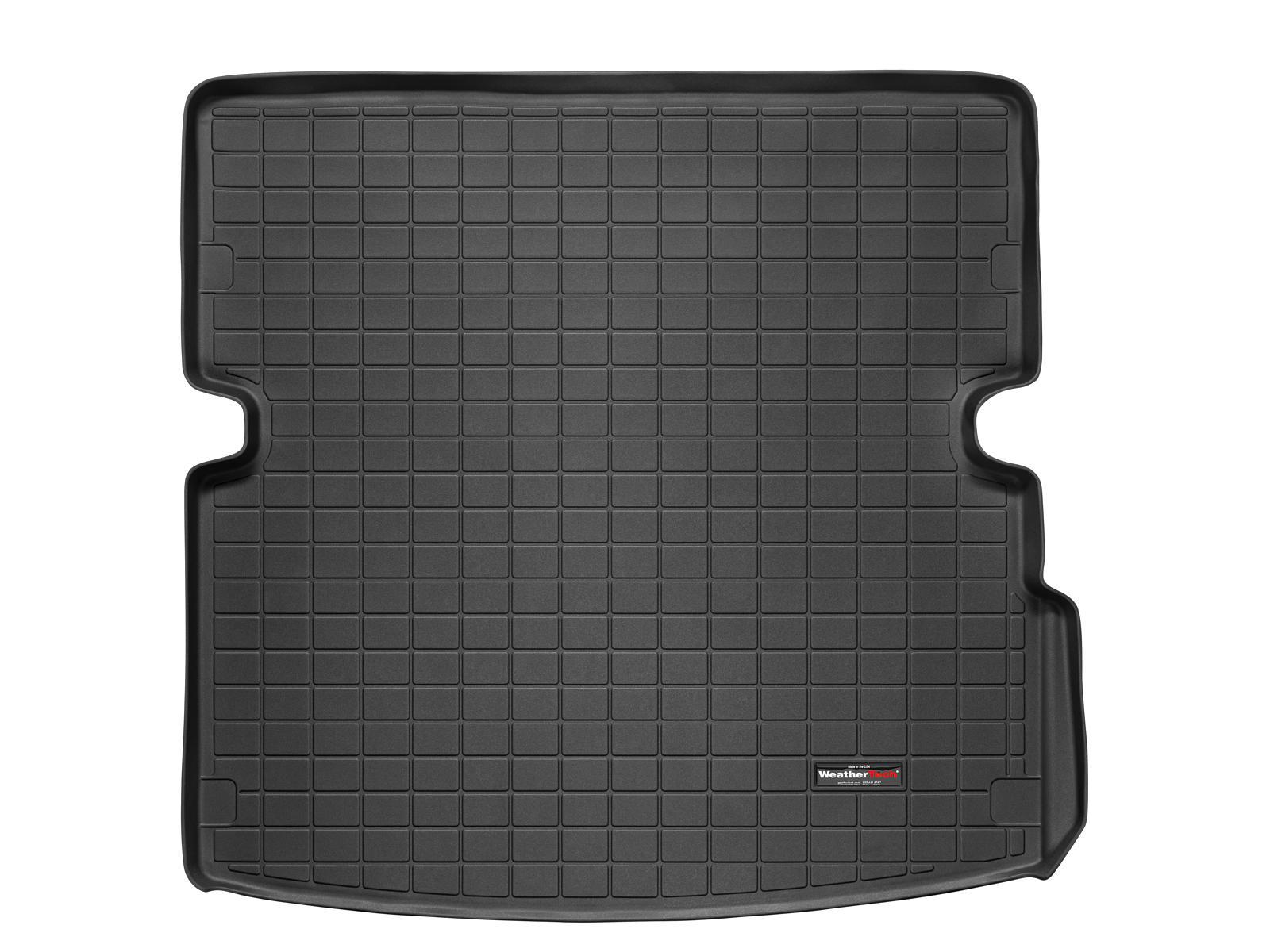 Audi Q7 2006>2013 Vasca proteggi baule tappeto bagagliaio nero *103