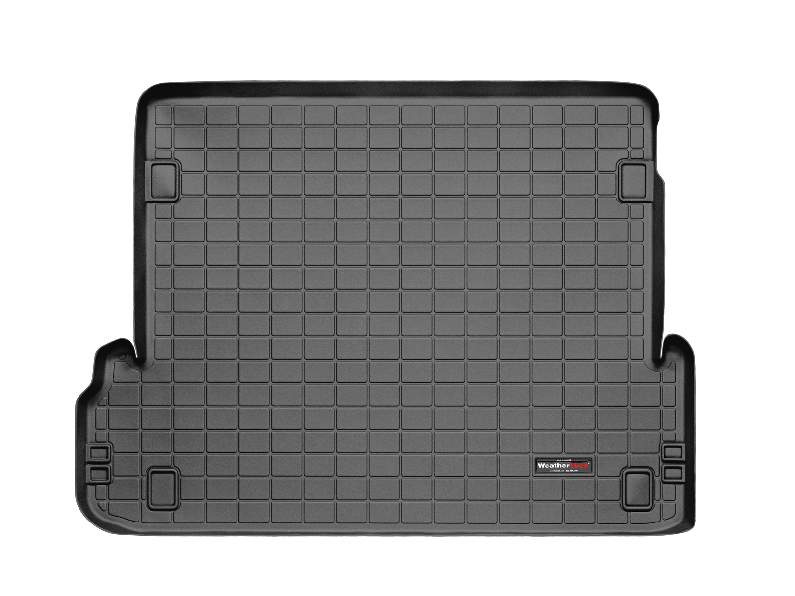 Toyota Land Cruiser 150 2010>2017 Vasca baule WeatherTech bagagliaio nero *1243*