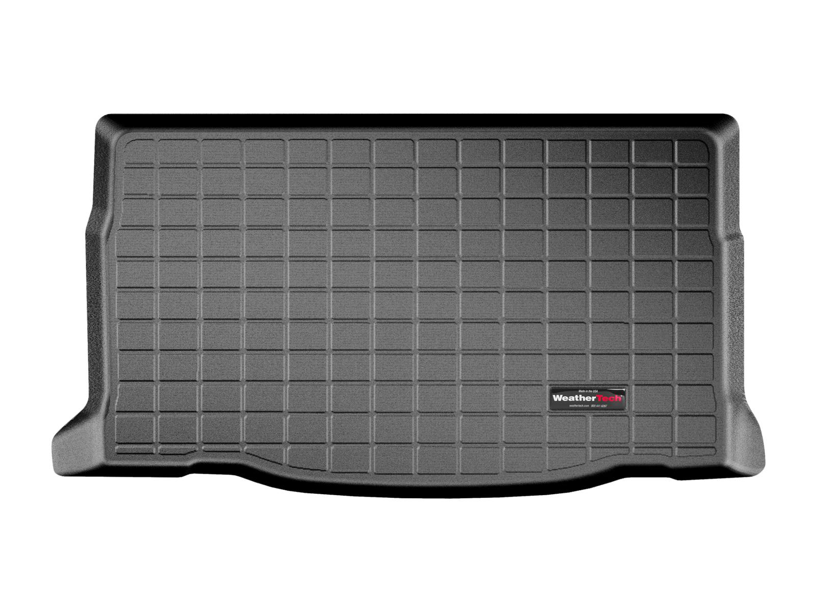 Lancia Ypsilon 2014>2017 Vasca proteggi baule tappeto bagagliaio nero *726