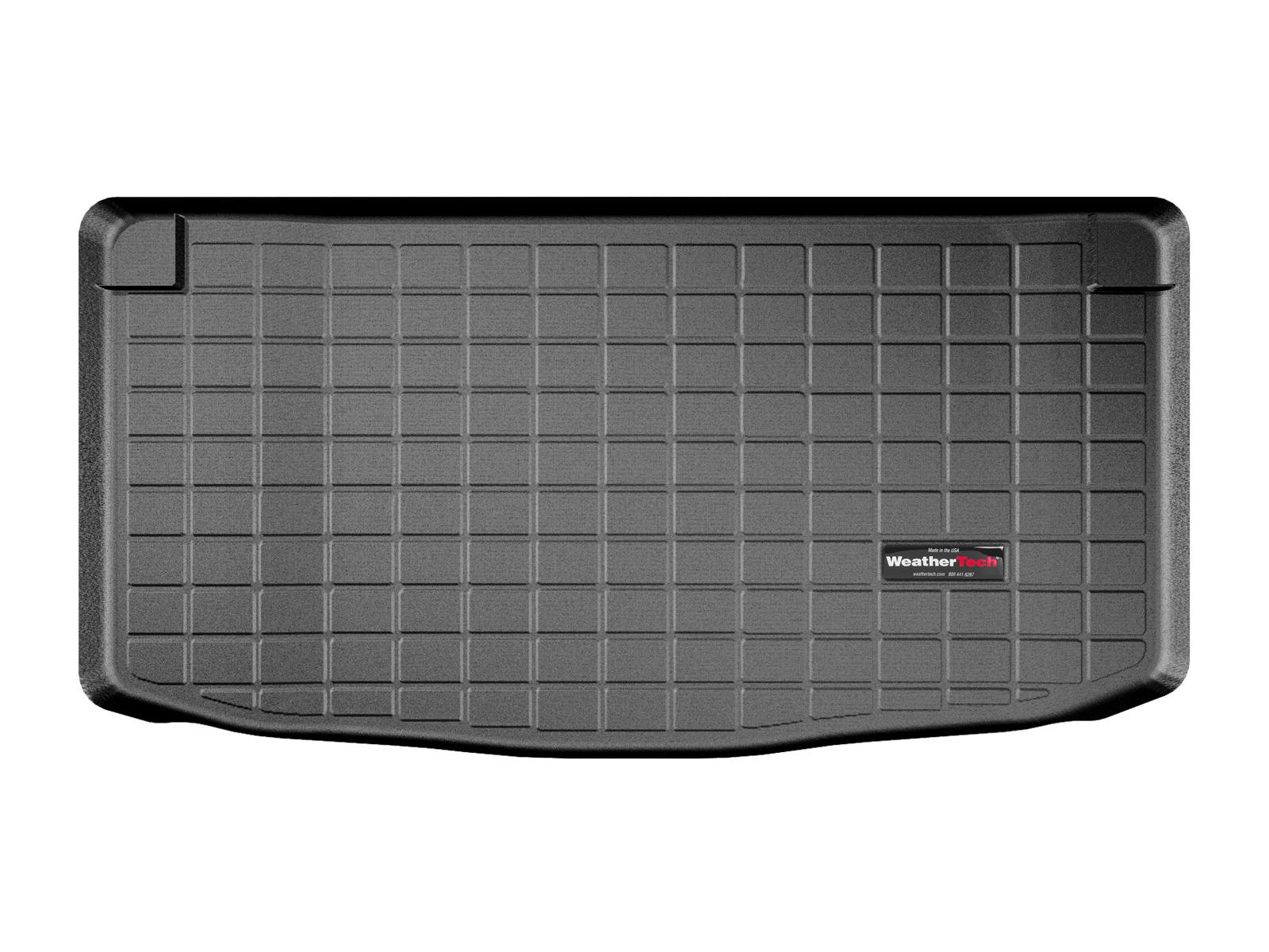 Lancia Ypsilon 2011>2013 Vasca proteggi baule tappeto bagagliaio nero *724