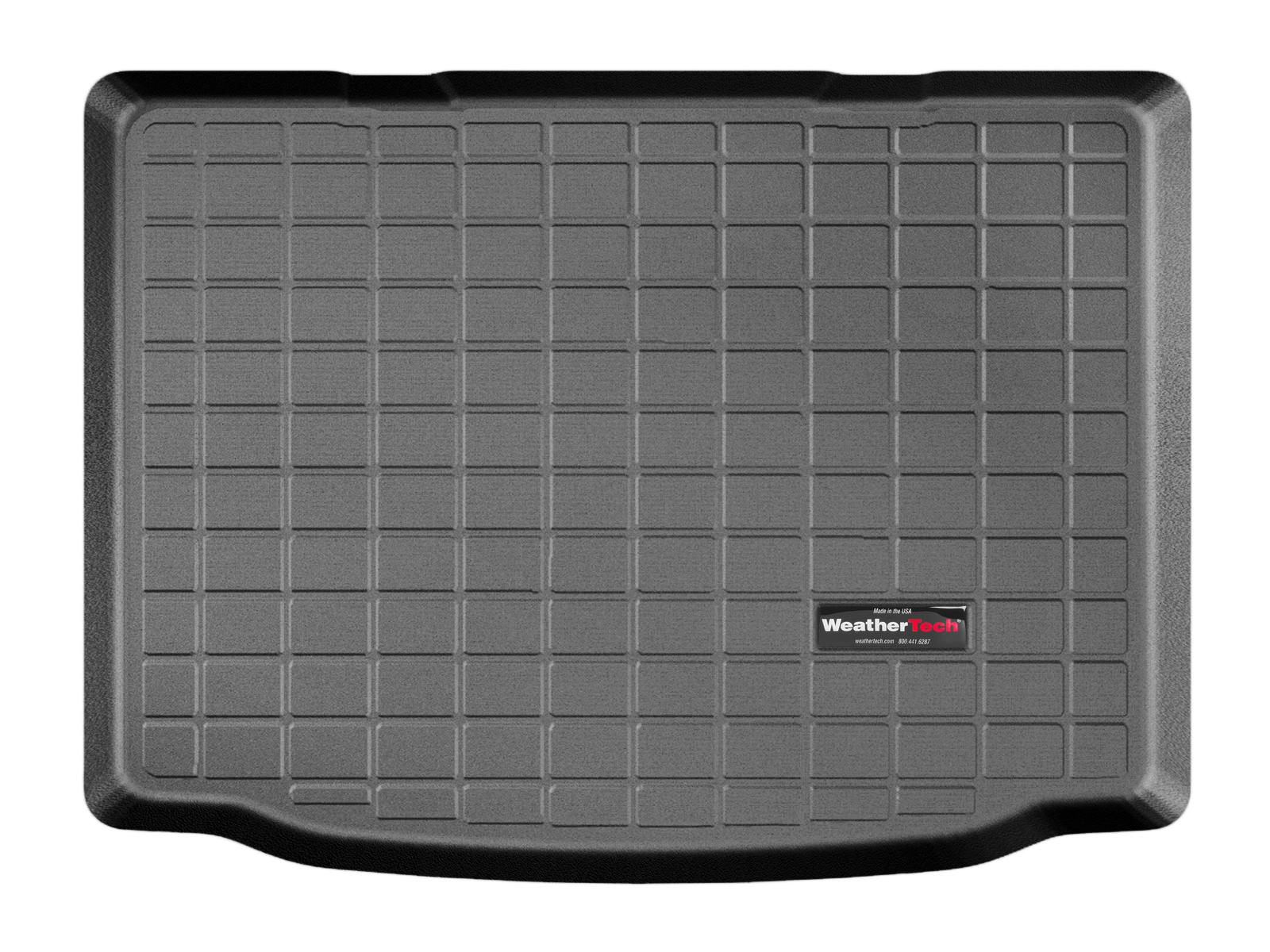 Volkswagen up! 2011>2017 Vasca baule tappeto bagagliaio nero *1444
