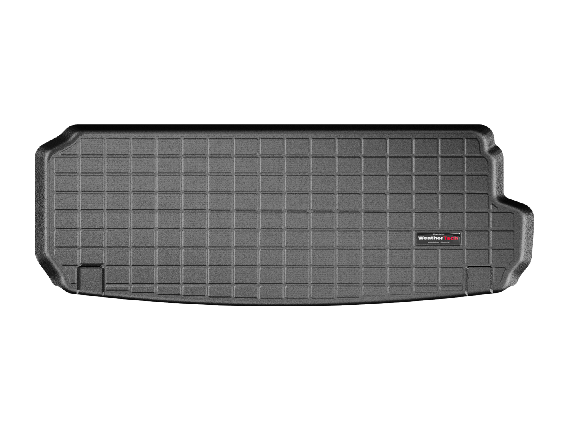 Audi Q7 2016>2017 Vasca proteggi baule tappeto bagagliaio nero *128