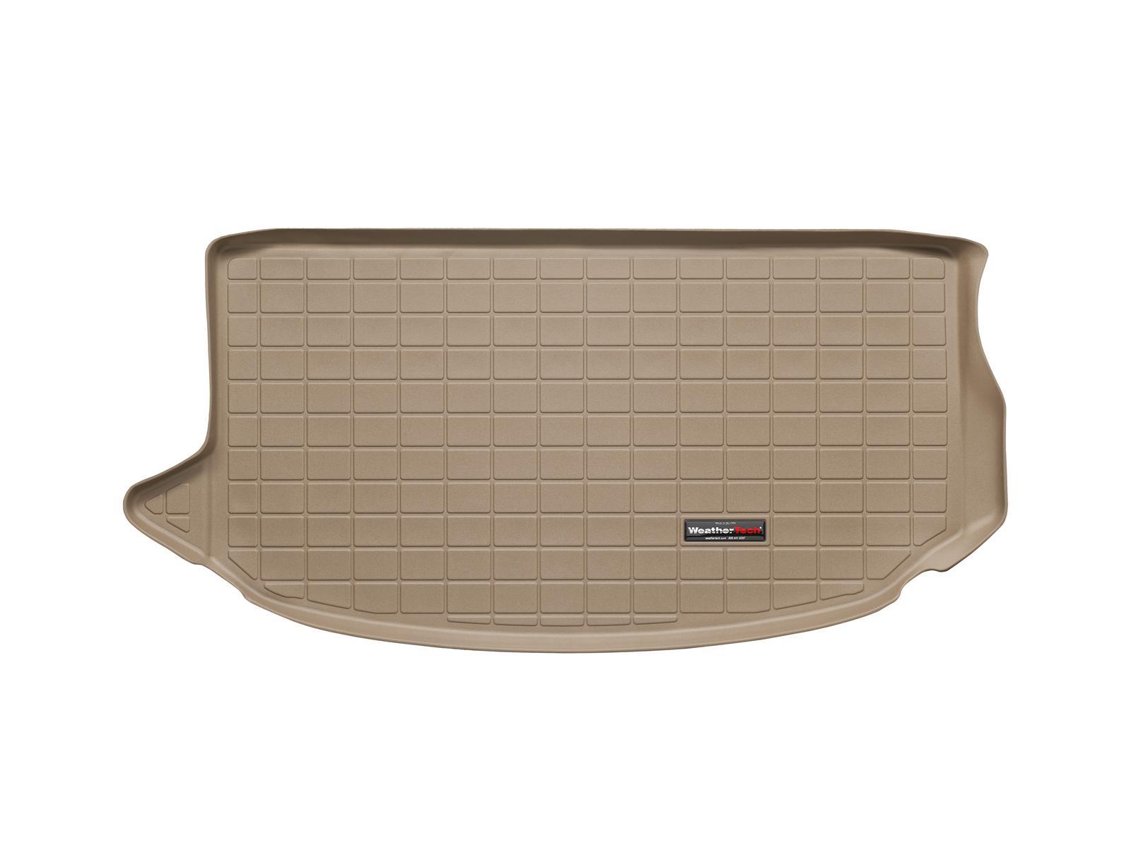 Kia Soul 2009>2013 Vasca proteggi baule tappeto bagagliaio marrone *698
