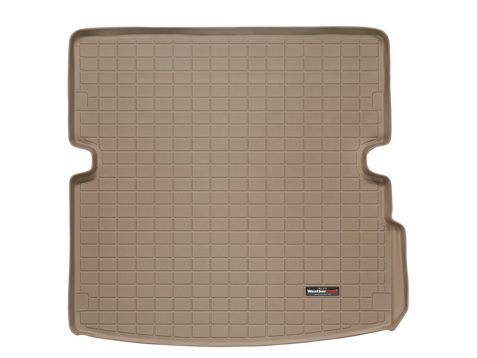 Audi Q7 2006>2013 Vasca proteggi baule tappeto bagagliaio marrone *101