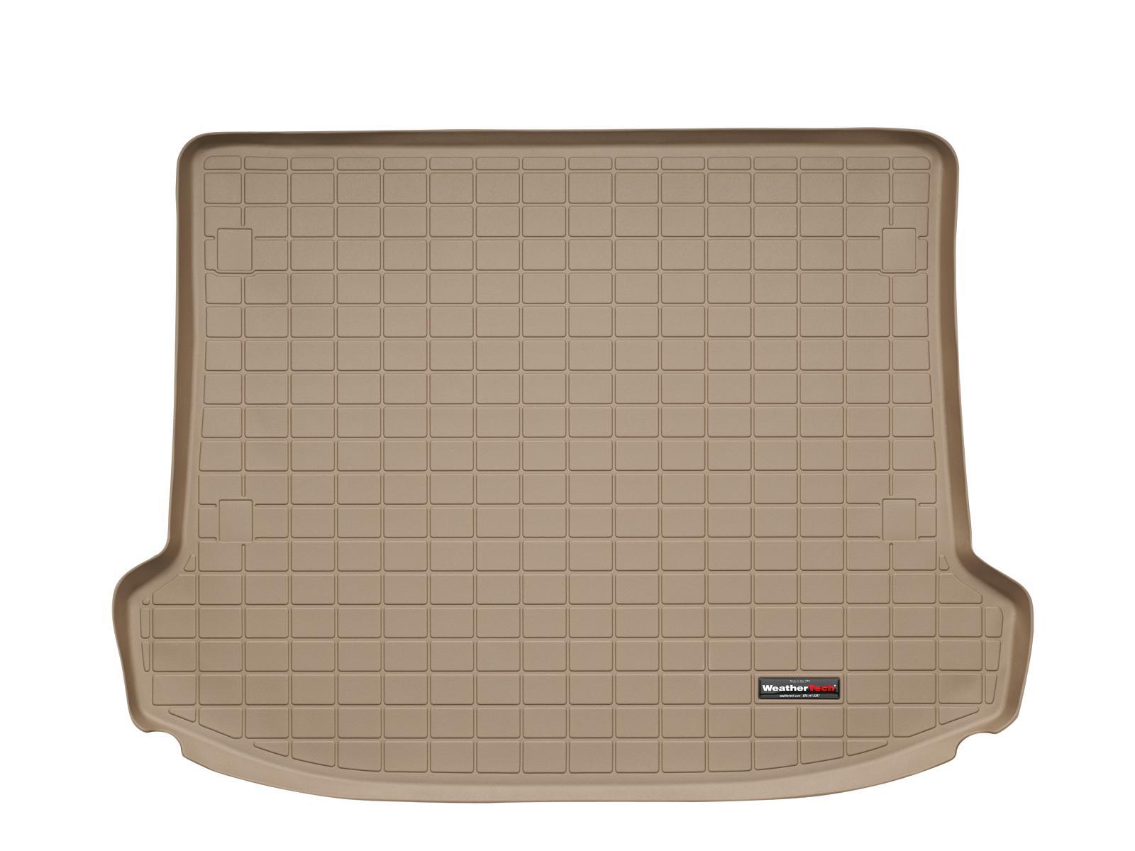 Cadillac SRX 2010>2016 Vasca proteggi baule tappeto bagagliaio marrone *301