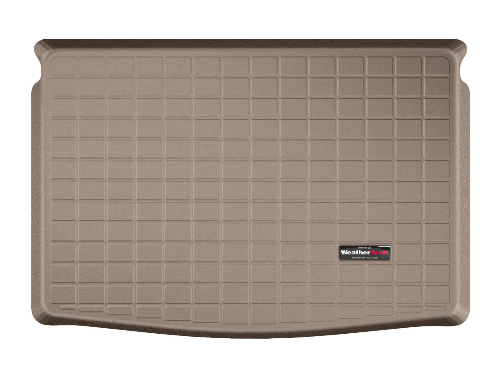 Volkswagen Golf Plus 2004>2014 Vasca baule tappeto bagagliaio marrone *1365