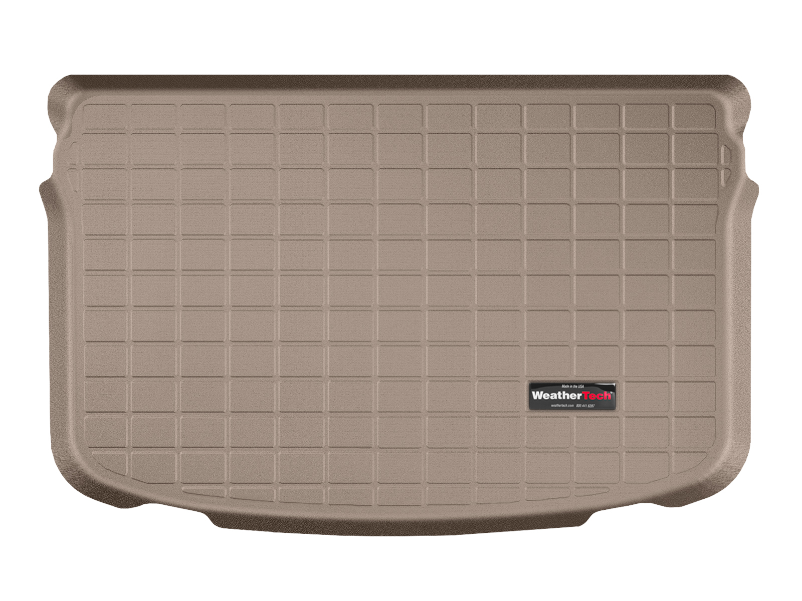 Audi A1 2010>2017 Vasca proteggi baule tappeto bagagliaio marrone *9