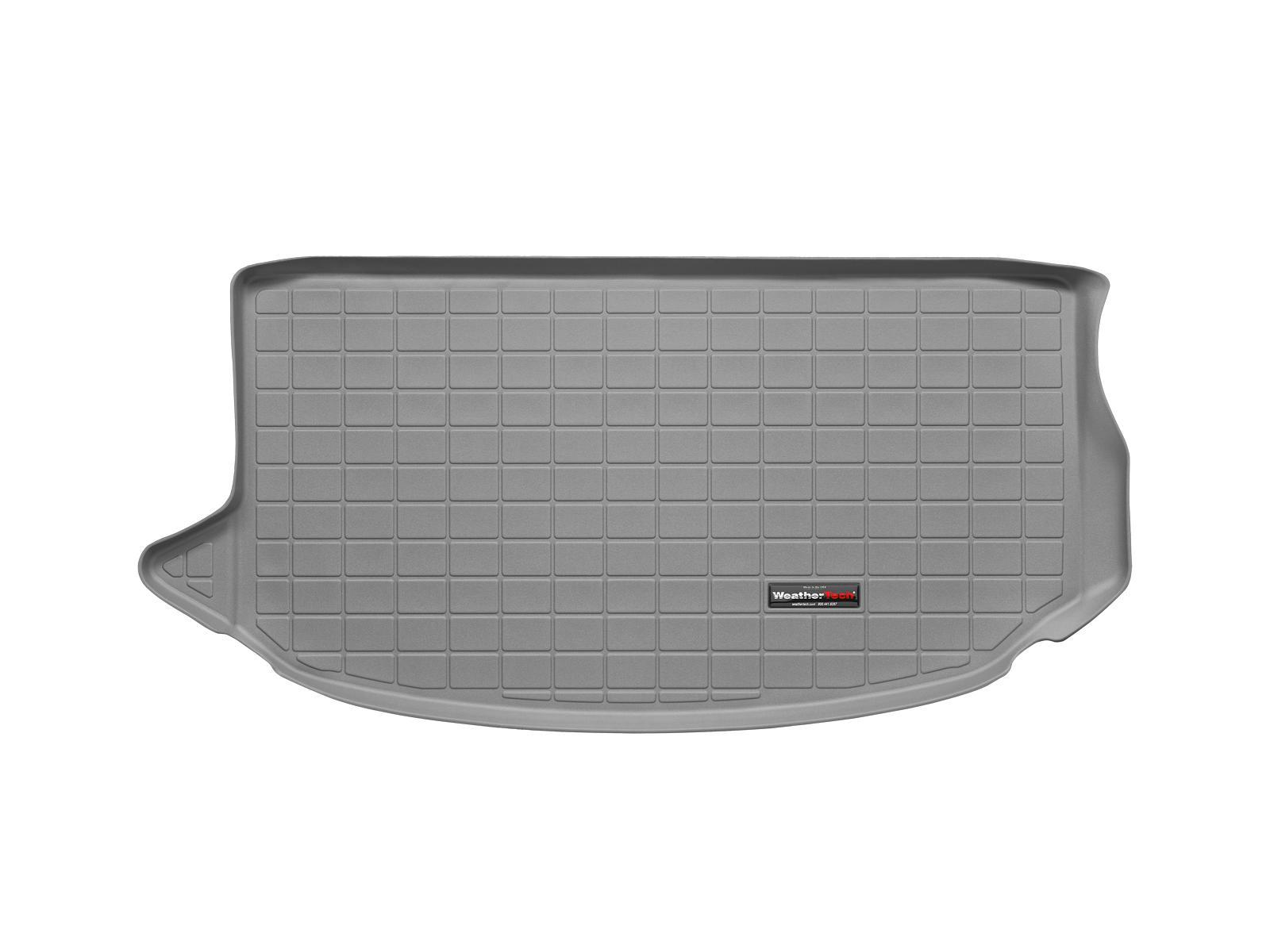 Kia Soul 2014>2014 Vasca proteggi baule tappeto bagagliaio grigio *701