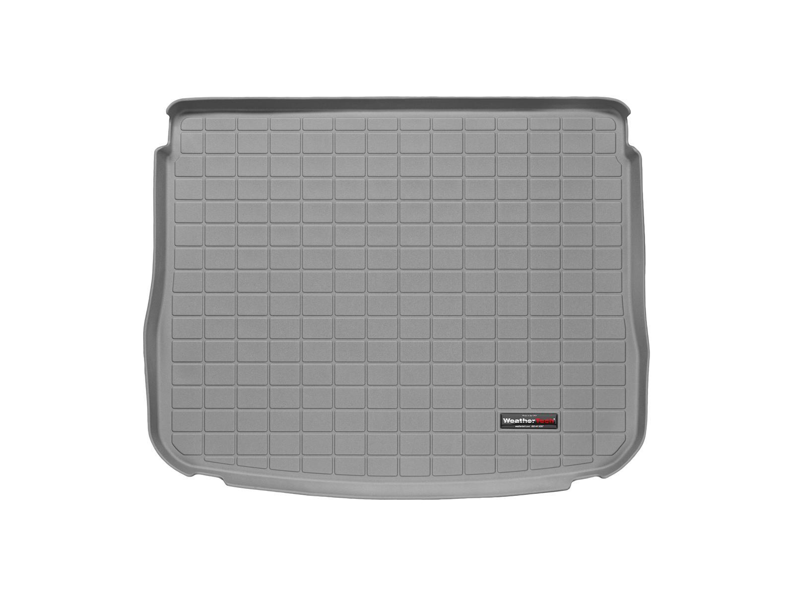 Volkswagen Tiguan 2008>2015 Vasca baule tappeto bagagliaio grigio *1412