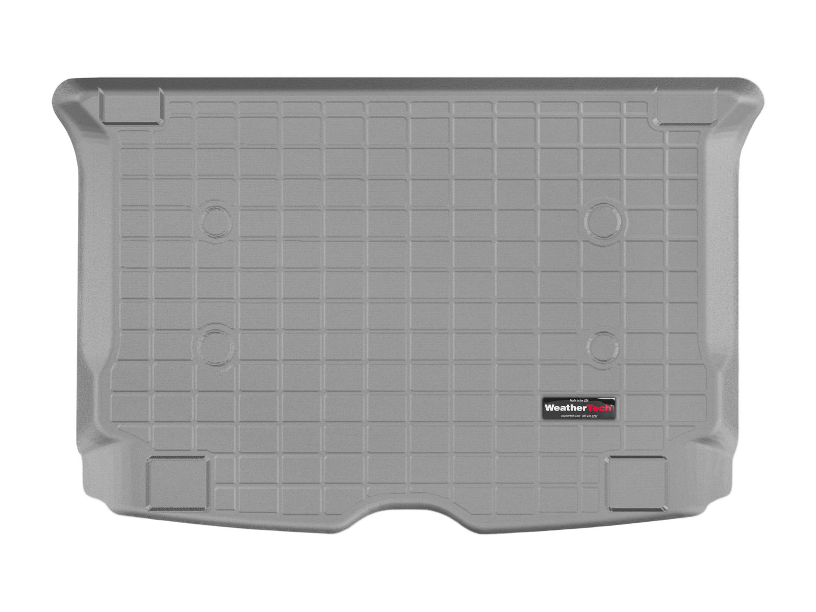 BMW i3 2013>2017 Vasca proteggi baule tappeto bagagliaio grigio *191