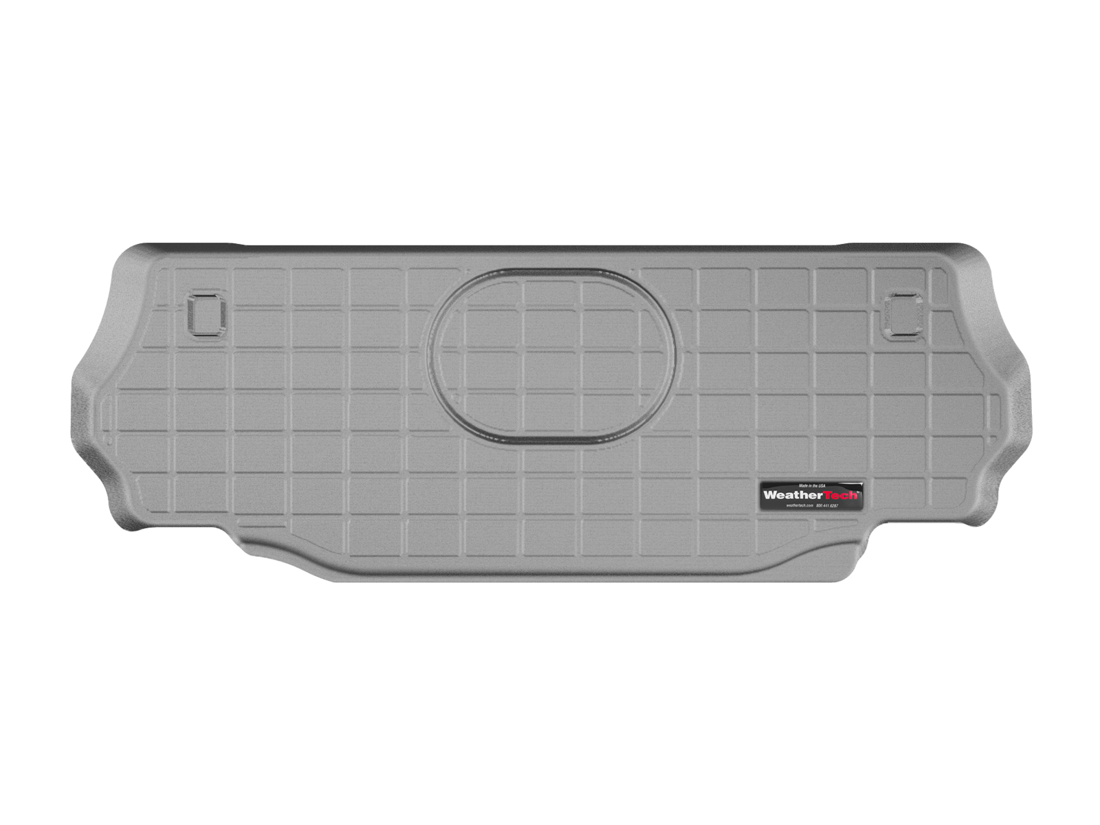 Jeep Wrangler 2015>2017 Vasca proteggi baule tappeto bagagliaio grigio *659