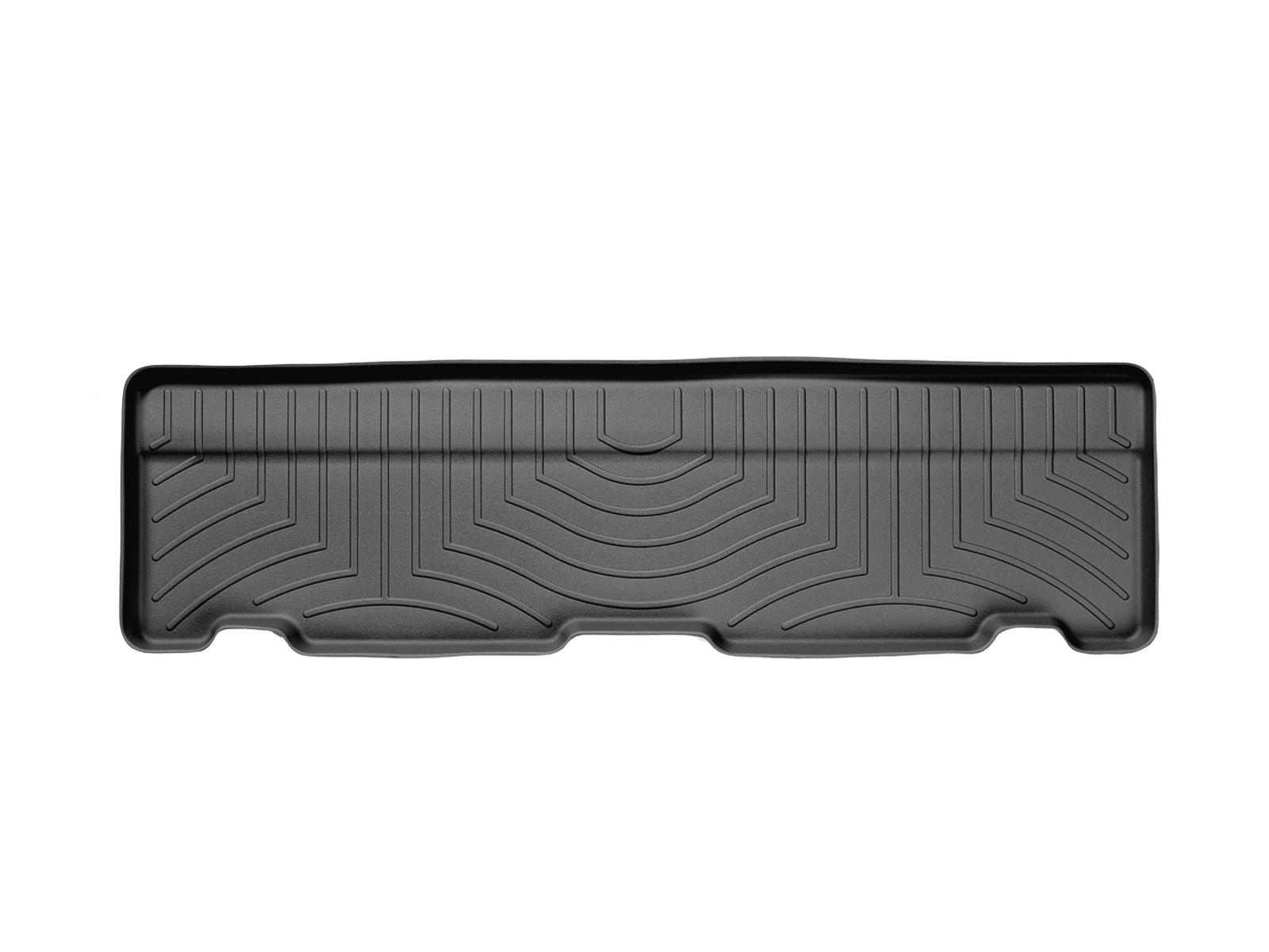Tappeti gomma su misura bordo alto Cadillac Escalade 02>06 Nero A14*