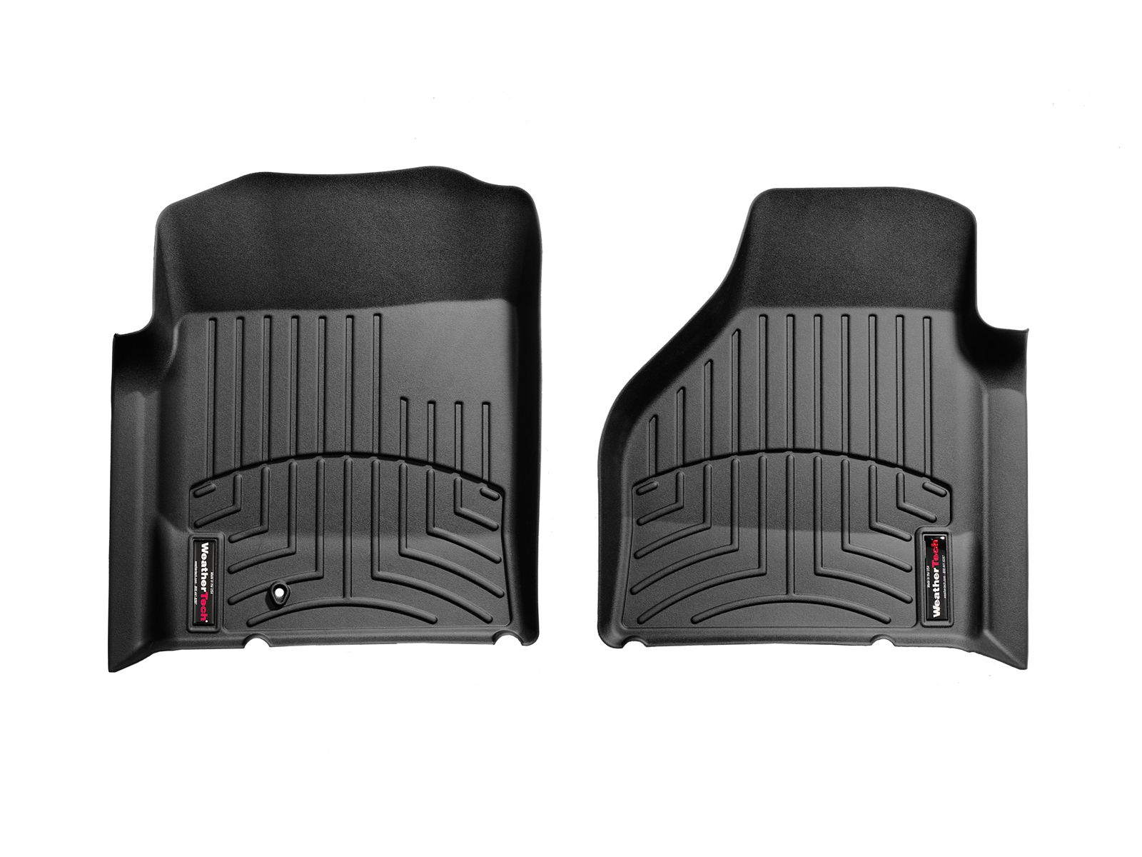 Tappeti gomma su misura bordo alto Dodge Ram Truck 2500/3500 09>09 Nero A704*