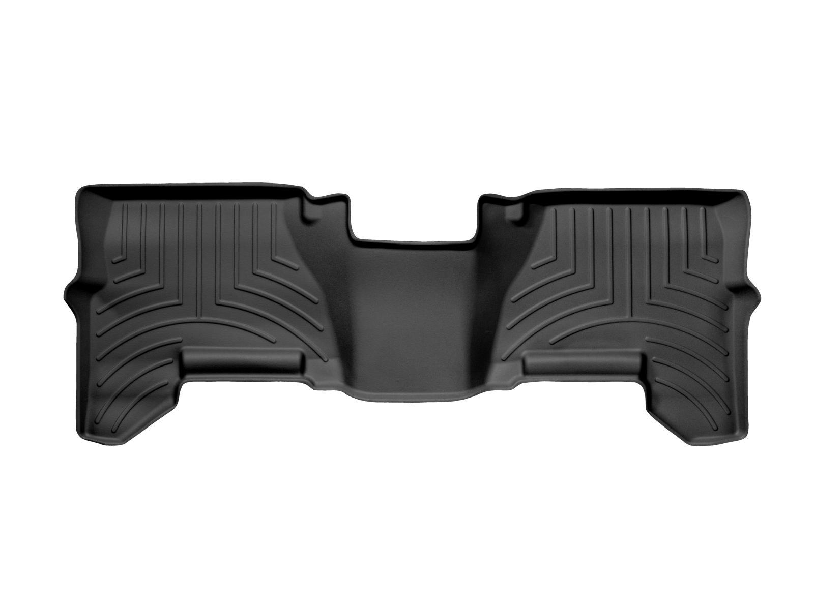 Tappeti gomma su misura bordo alto Nissan Pathfinder 10>15 Nero A2910