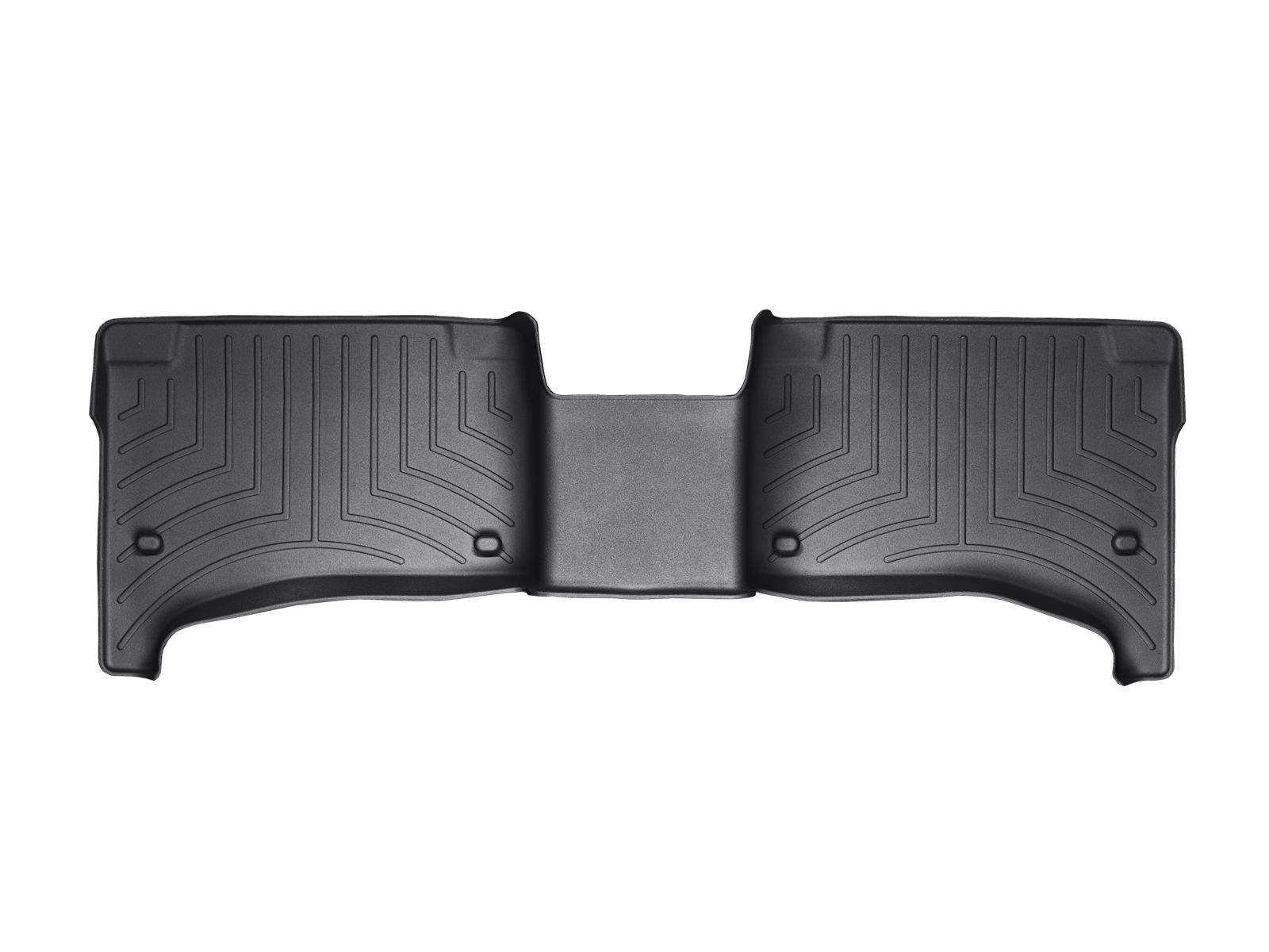 Tappeti gomma su misura bordo alto Volkswagen Touareg 07>08 Nero A4300*