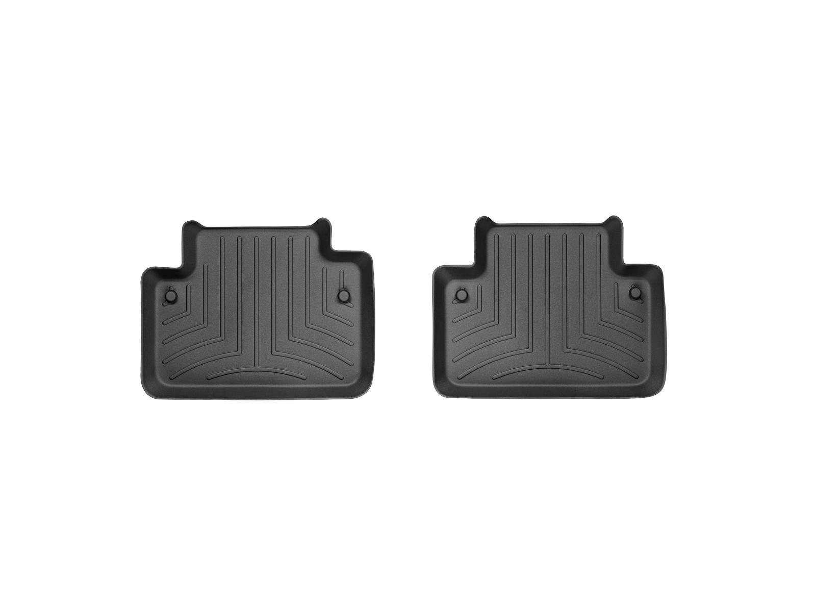 Tappeti gomma su misura bordo alto Volvo XC90 03>14 Nero A4449*