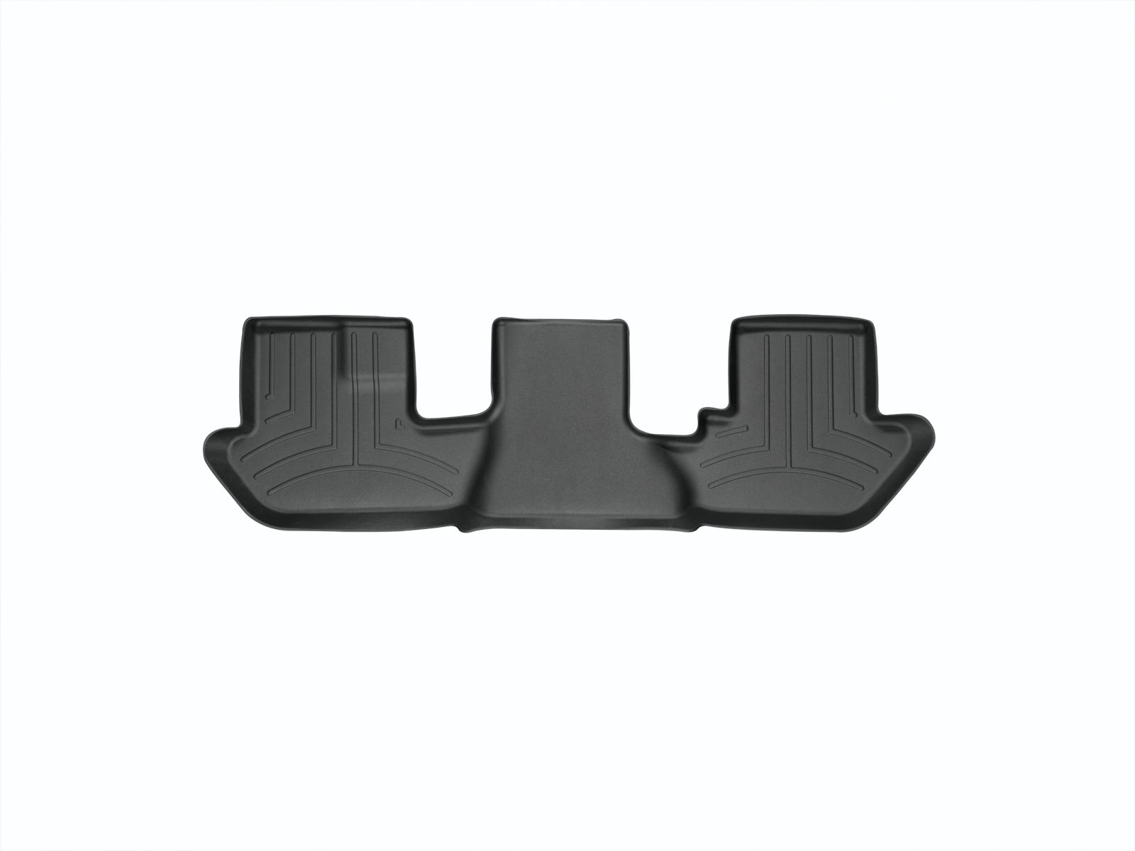 Tappeti gomma su misura bordo alto Cadillac Escalade ESV 03>06 Nero A41*