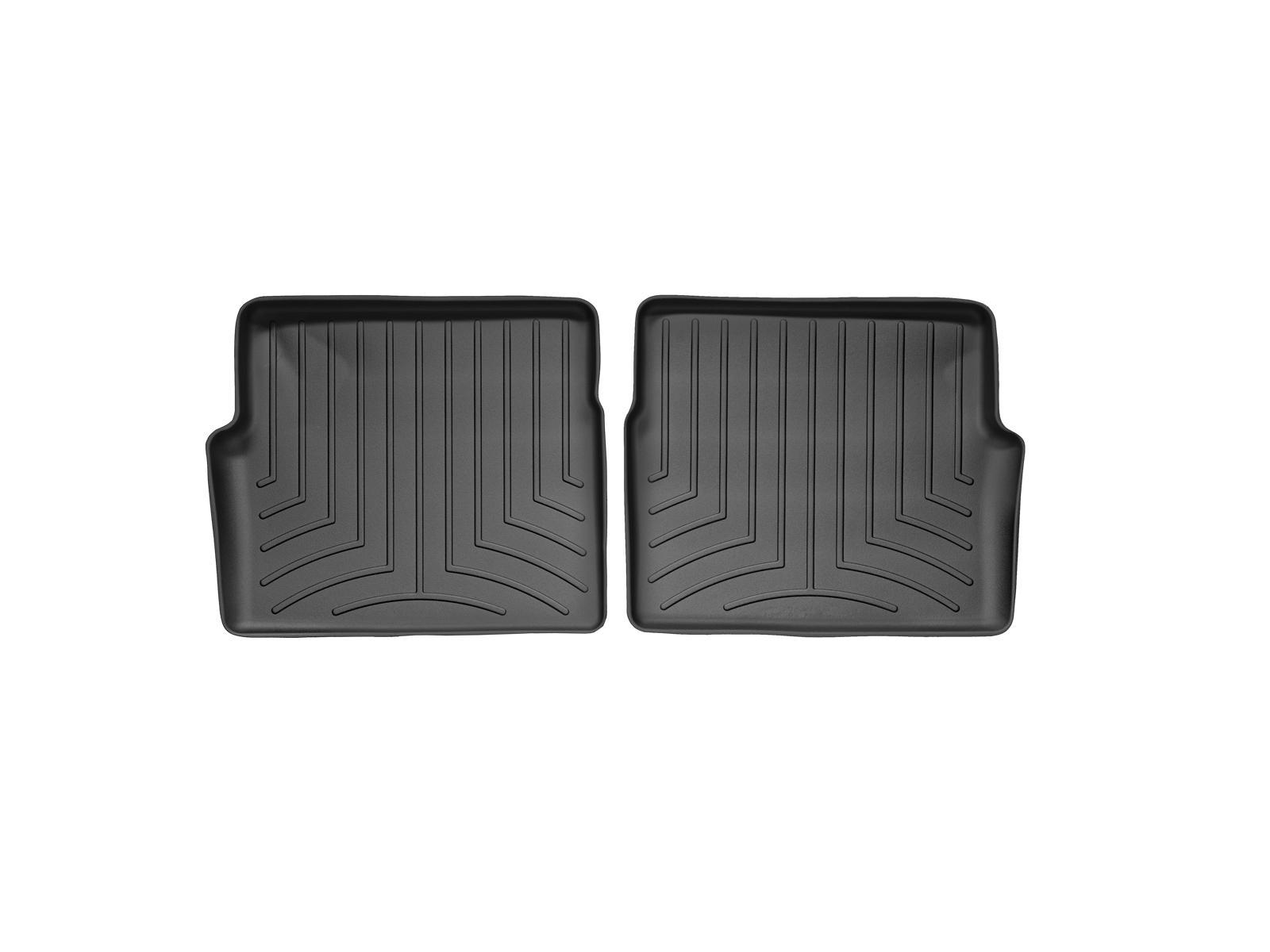 Tappeti gomma su misura bordo alto Cadillac SRX 04>09 Nero A77*