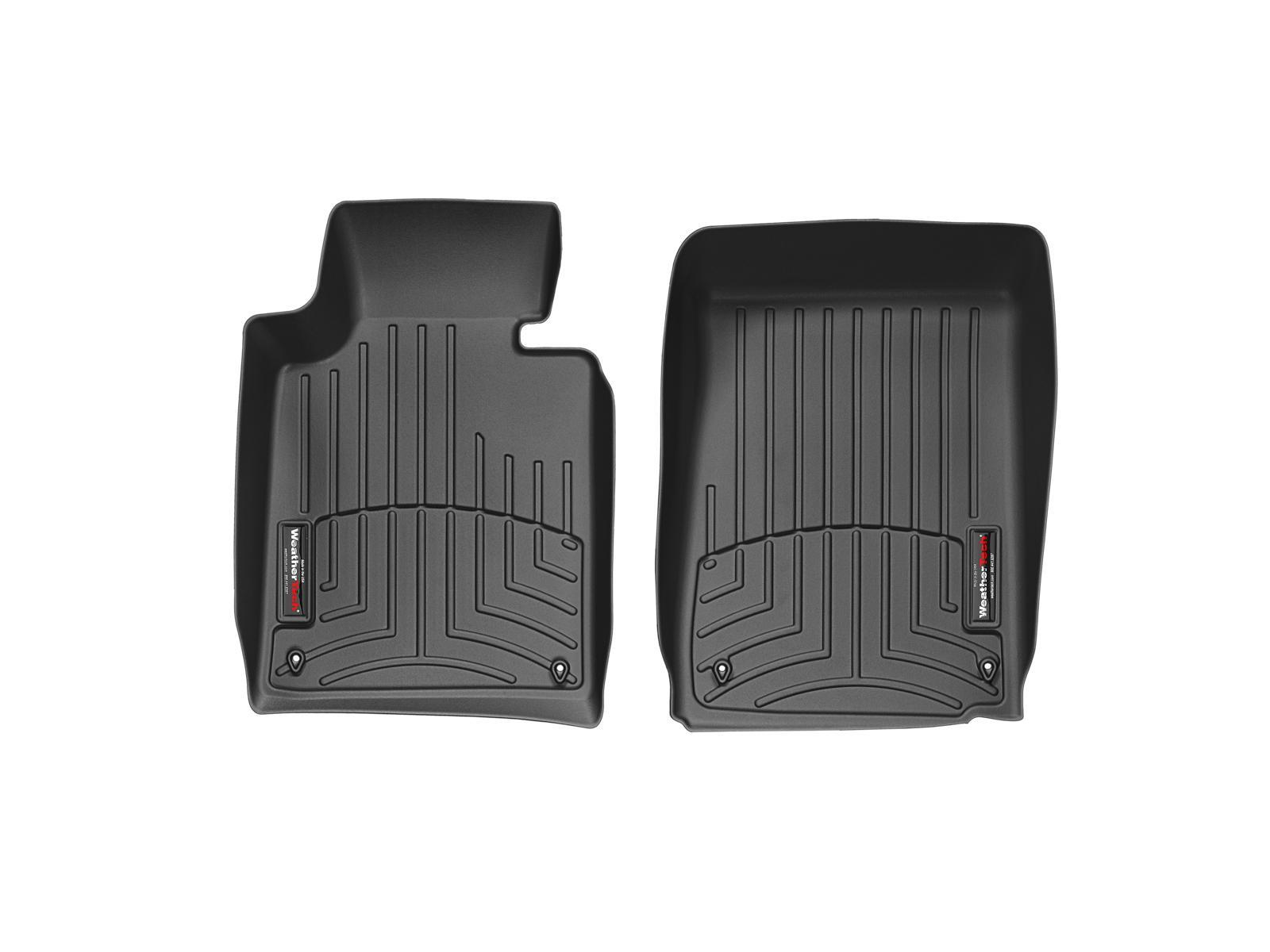 BMW Serie 3 (E46) 99>06 Tappeti gomma su misura bordo alto nero