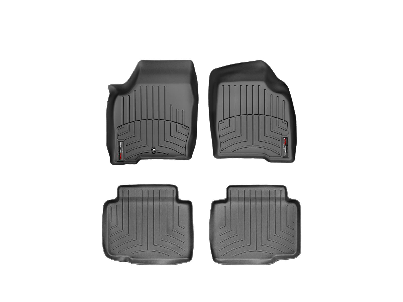 Tappeti gomma su misura bordo alto Chevrolet Impala 06>13 Nero A131