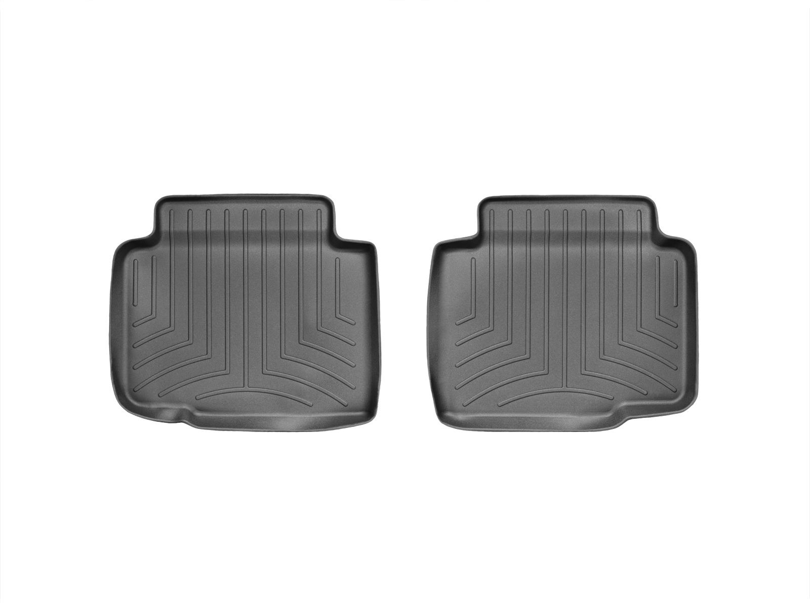 Tappeti gomma su misura bordo alto Chevrolet Impala Limited 14>16 Nero A141
