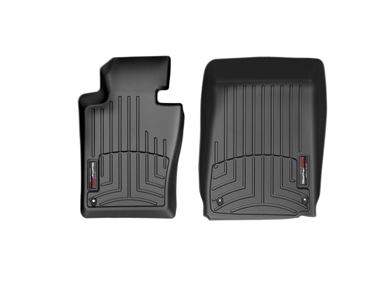 BMW Serie 3 (E46) 99>06 Tappeti gomma su misura bordo alto nero*