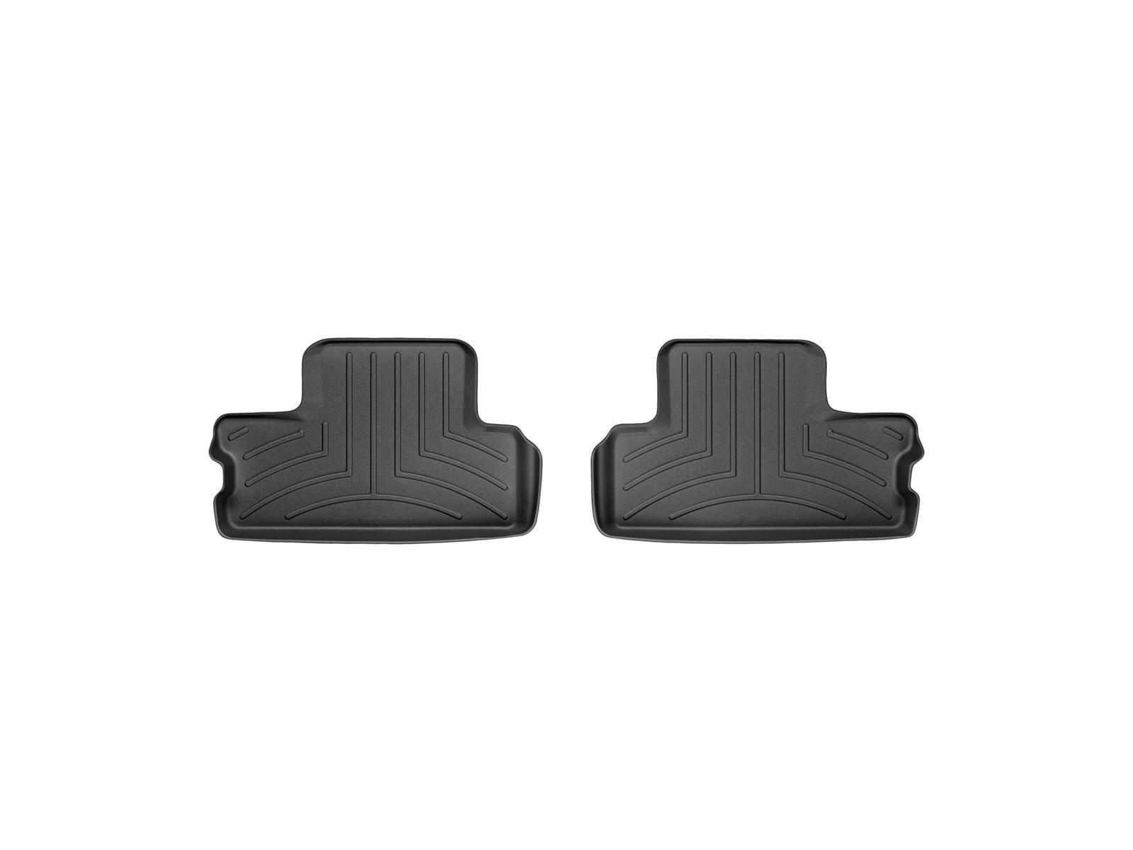 Tappeti gomma su misura bordo alto MINI Cooper / Cooper S 02>13 Nero A2670*