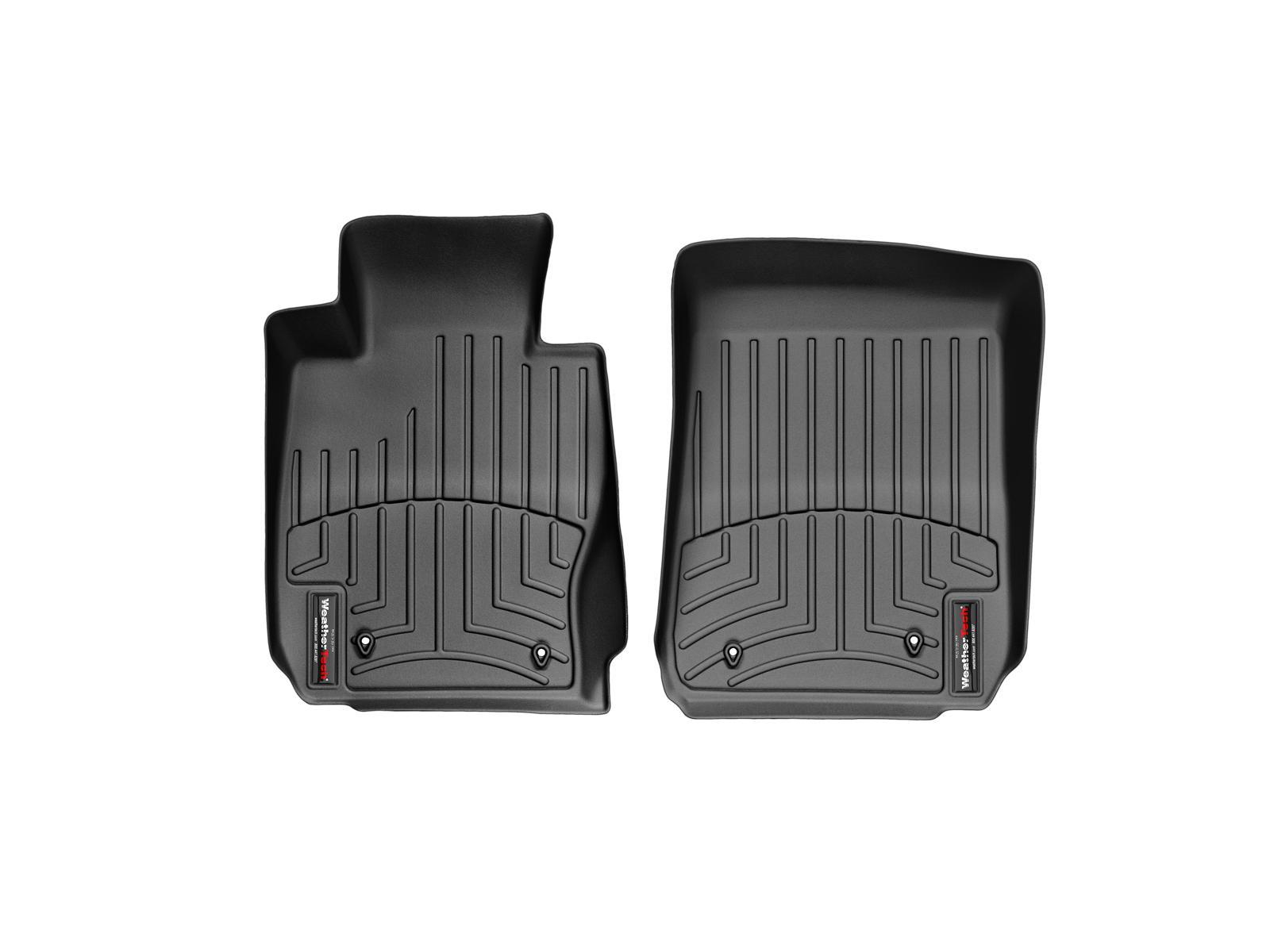 BMW Serie 3 E90/E91/E92/E93 05>12 Tappeti gomma su misura bordo alto nero*