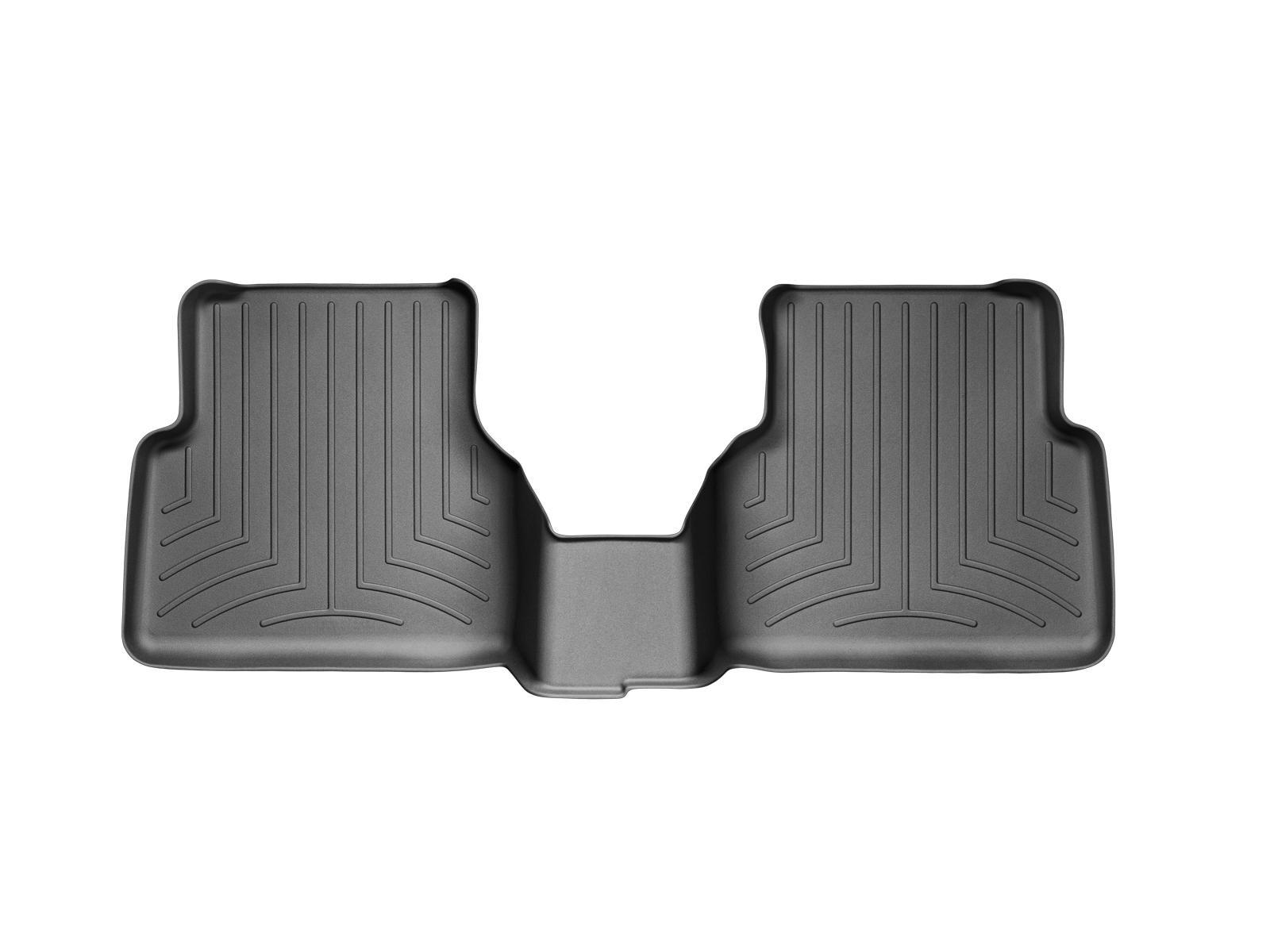 Tappeti gomma su misura bordo alto Volkswagen Tiguan 08>15 Nero A4266*