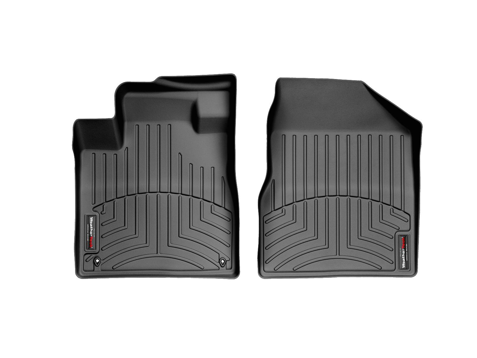 Tappeti gomma su misura bordo alto Nissan Murano 08>14 Nero A2890