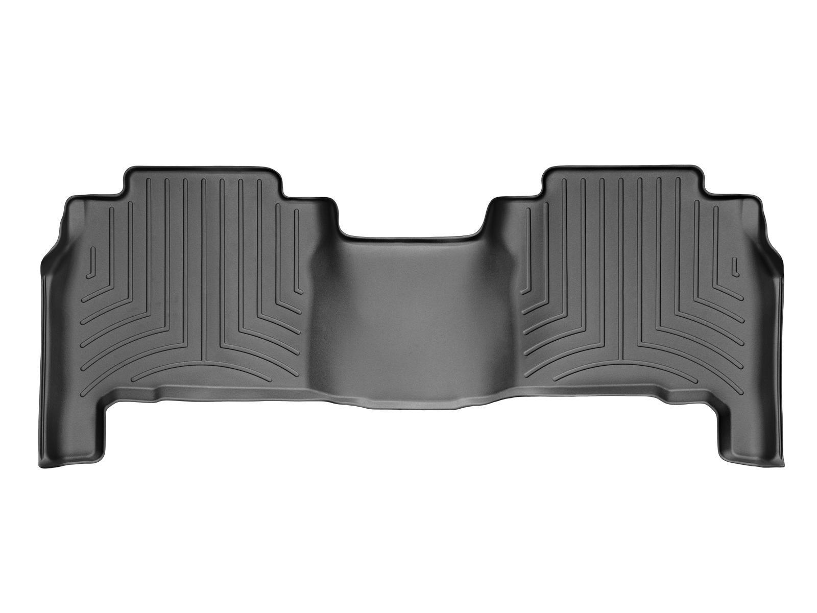 Tappeti gomma su misura bordo alto Lexus LX 08>12 Nero A2083