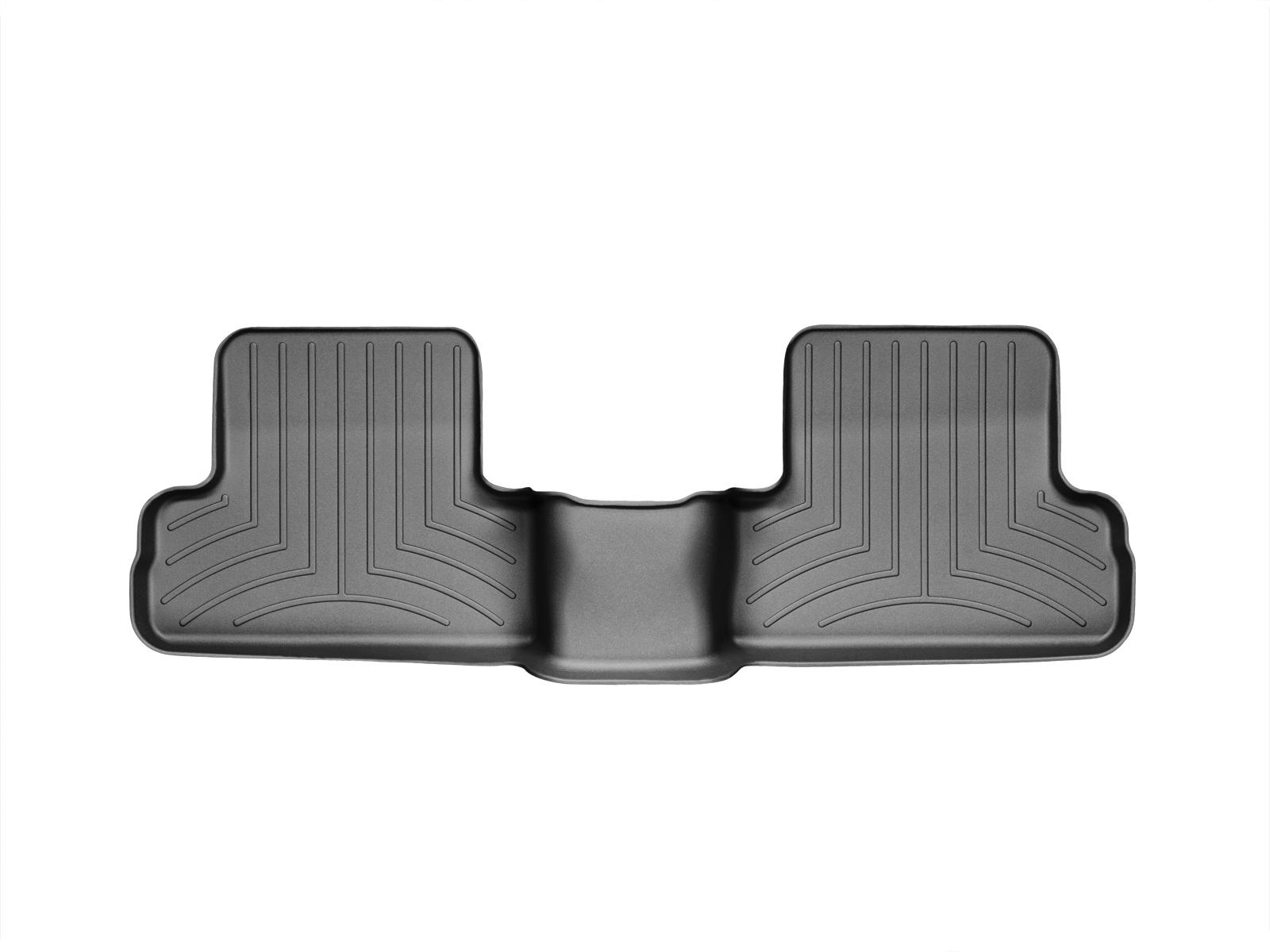 Tappeti gomma su misura bordo alto Nissan X-Trail 07>07 Nero A2924