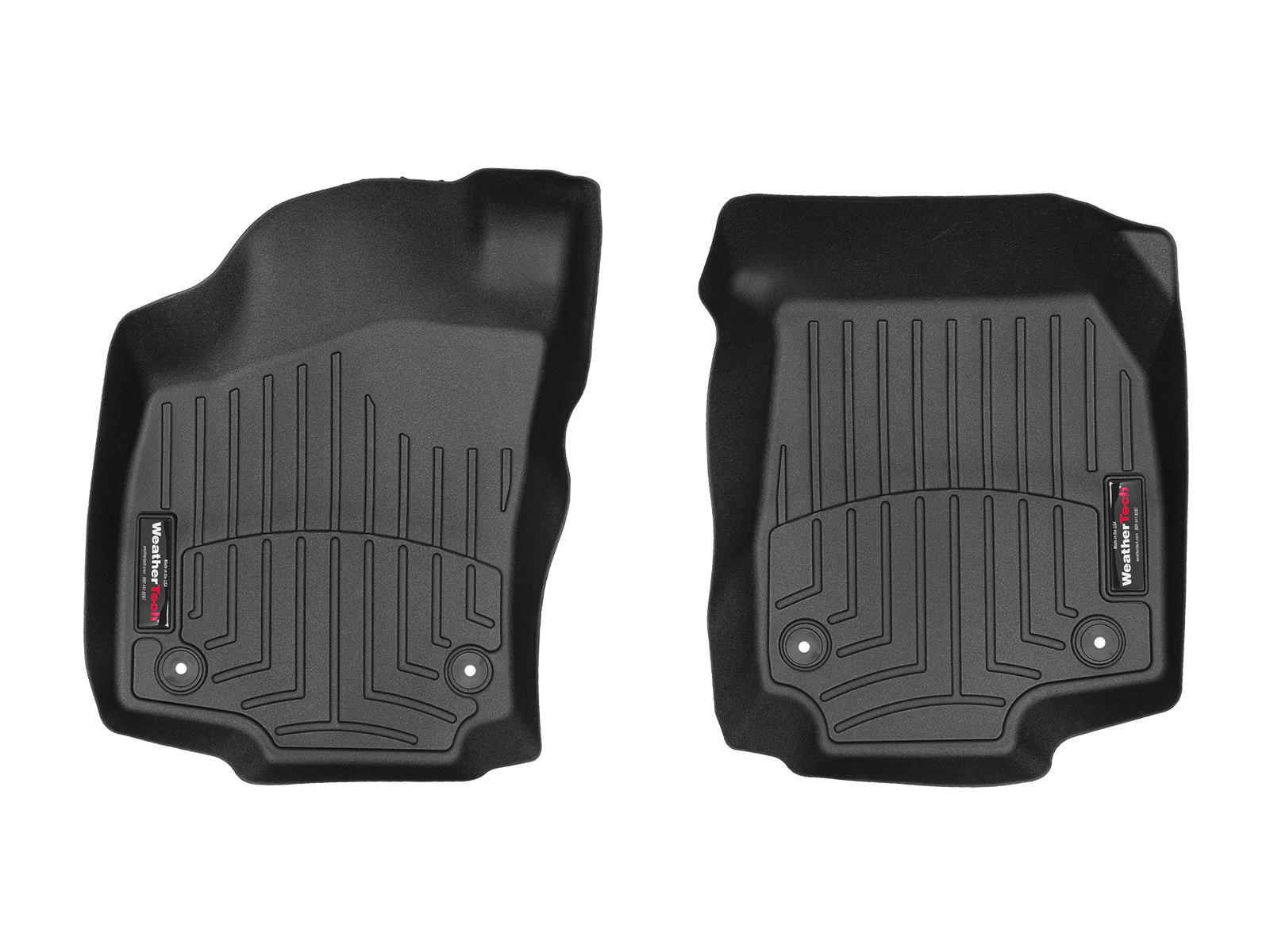 Tappeti gomma su misura bordo alto Opel Astra 04>08 Nero A2956