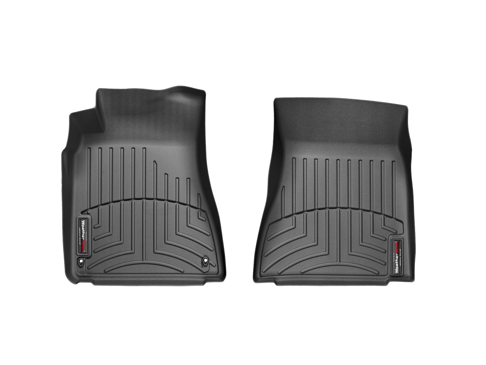 Tappeti gomma su misura bordo alto Lexus IS 13>13 Nero A2058