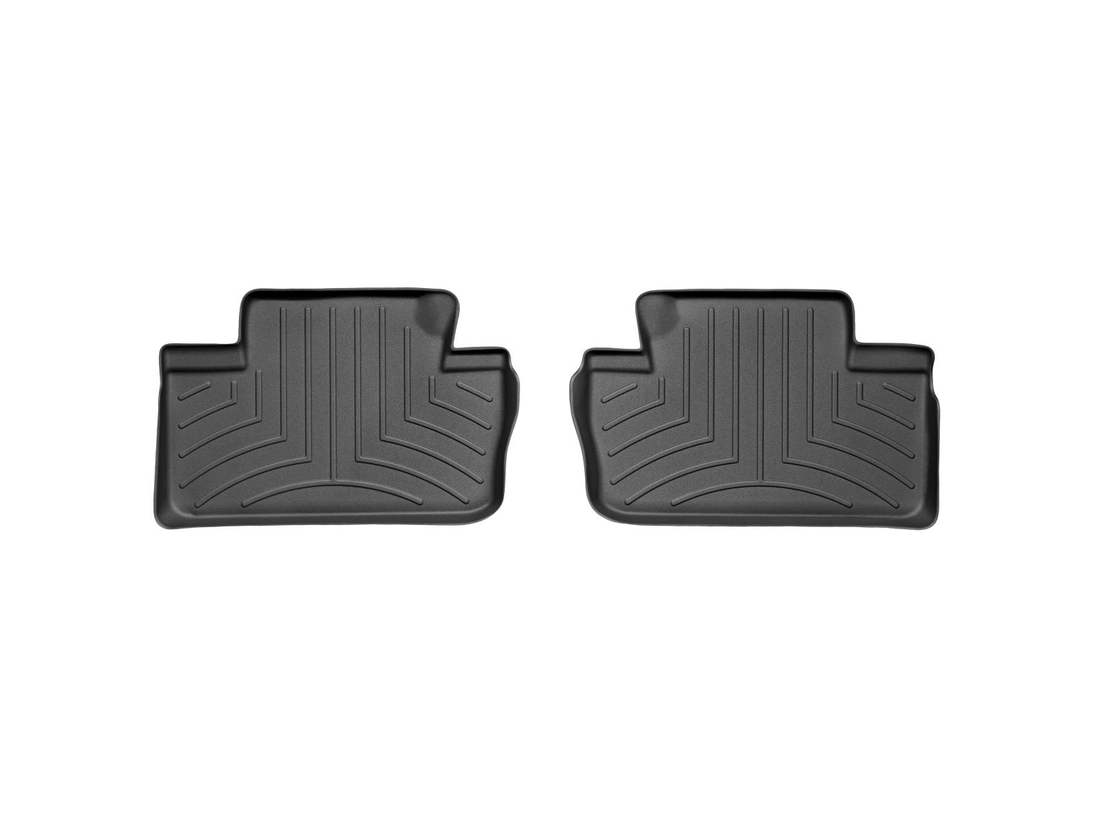 Tappeti gomma Weathertech bordo alto Lexus IS 05>10 Nero A2043