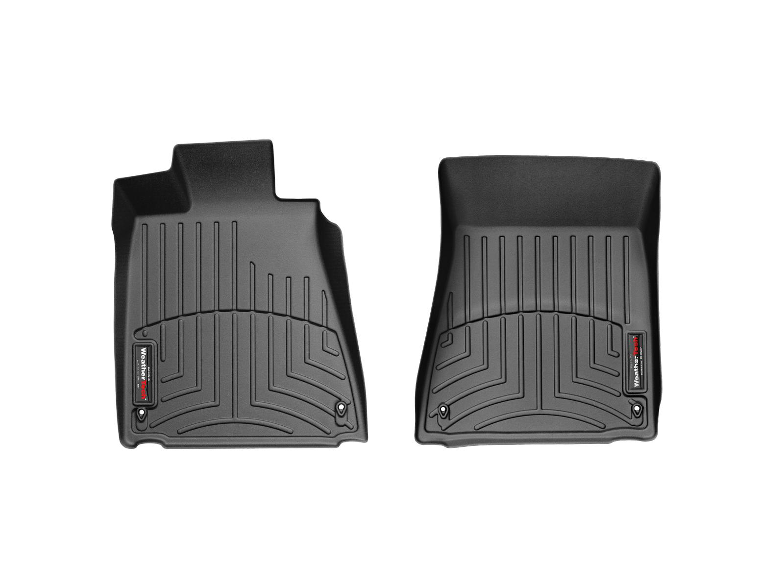 Tappeti gomma su misura bordo alto Lexus GS 430 06>07 Nero A2034
