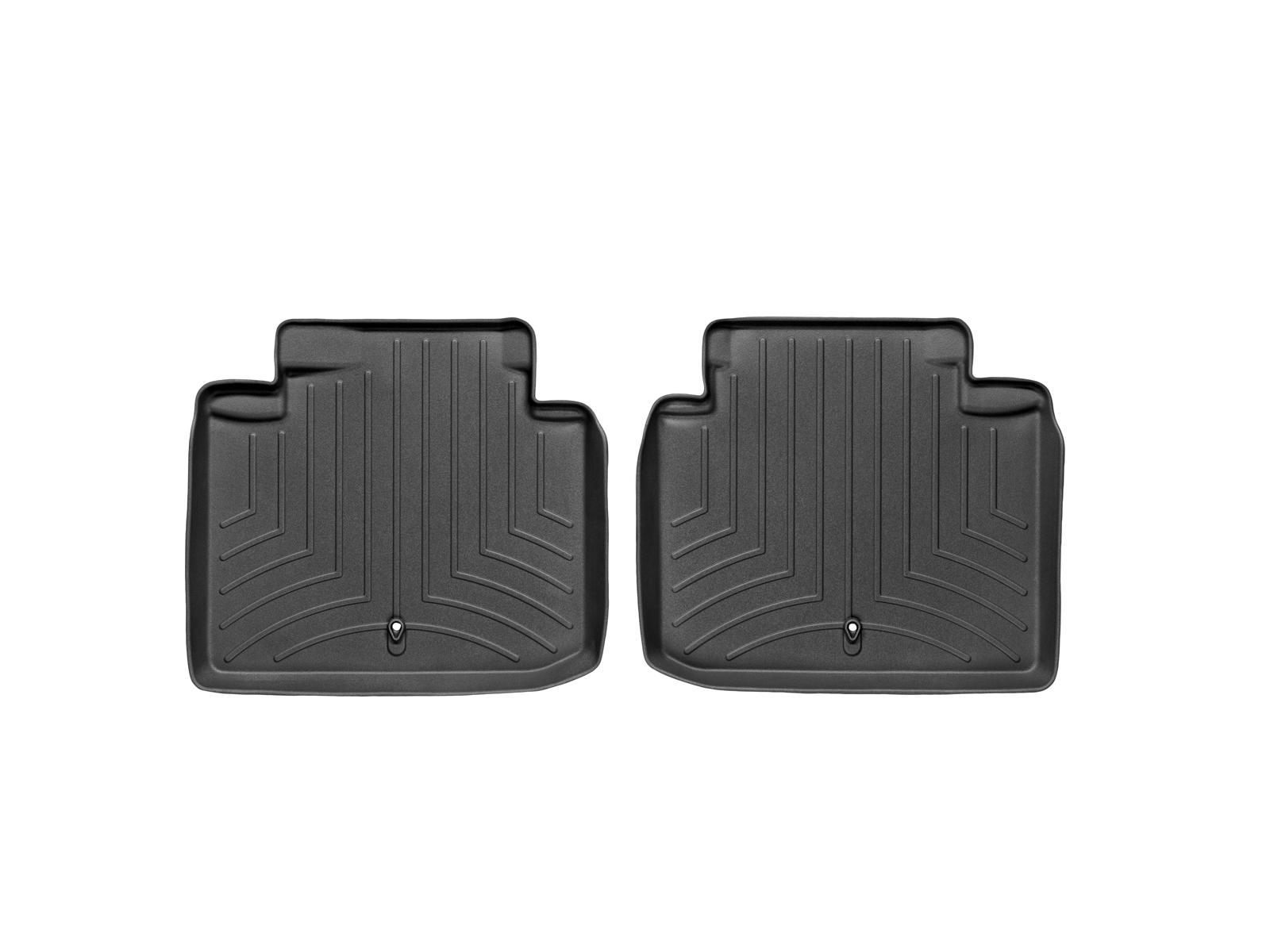 Tappeti gomma su misura bordo alto Lexus GS 430 06>07 Nero A2035