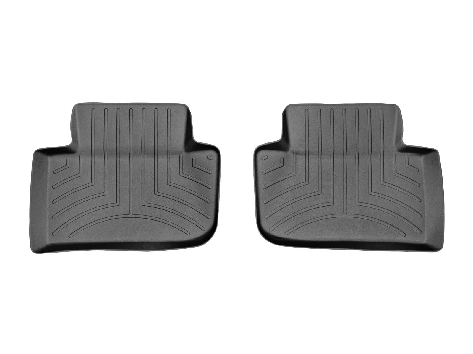 Tappeti gomma su misura bordo alto Porsche® Macan 14>17 Nero A3168