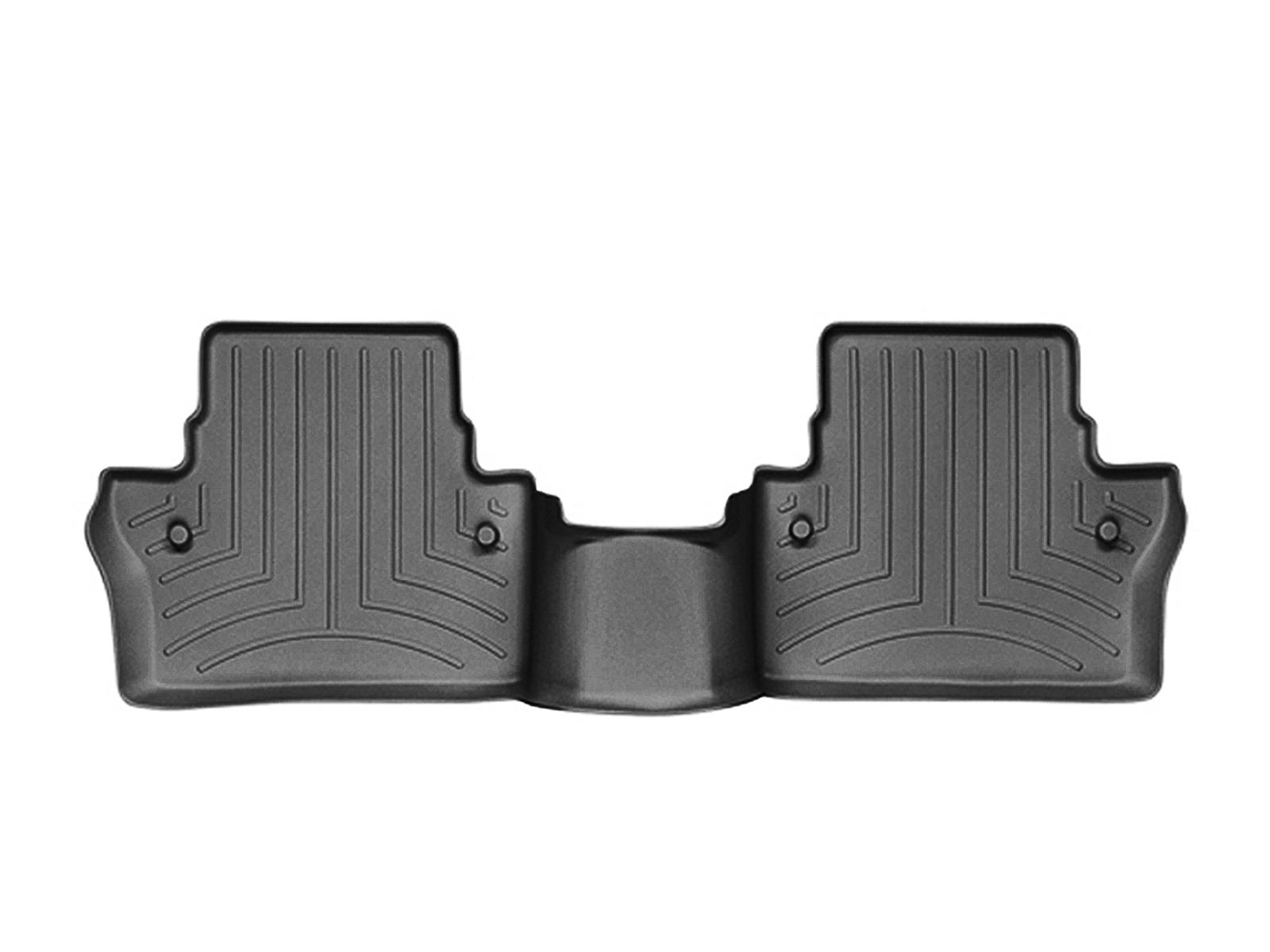 Tappeti gomma su misura bordo alto Volvo V70 07>07 Nero A4411*