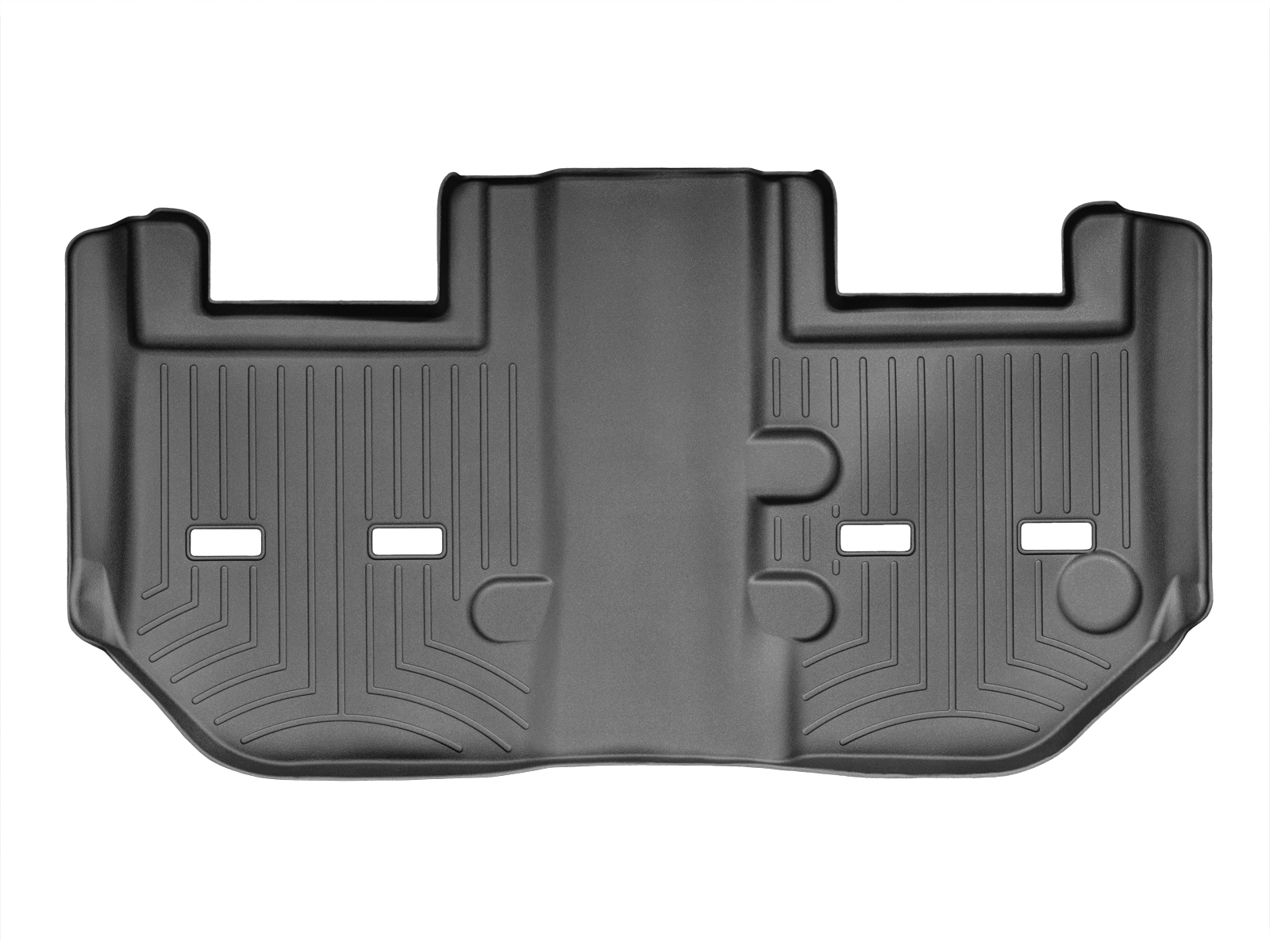Tappeti gomma su misura bordo alto Cadillac Escalade ESV 11>14 Nero A67*