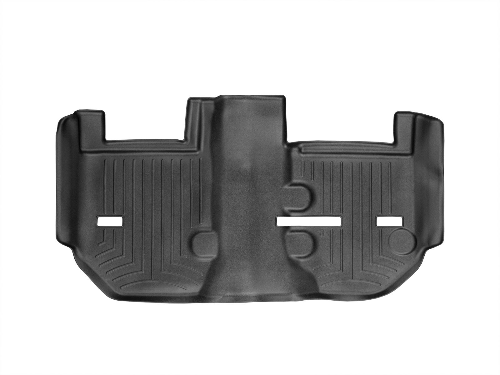 Tappeti gomma su misura bordo alto Cadillac Escalade ESV 11>14 Nero A68*