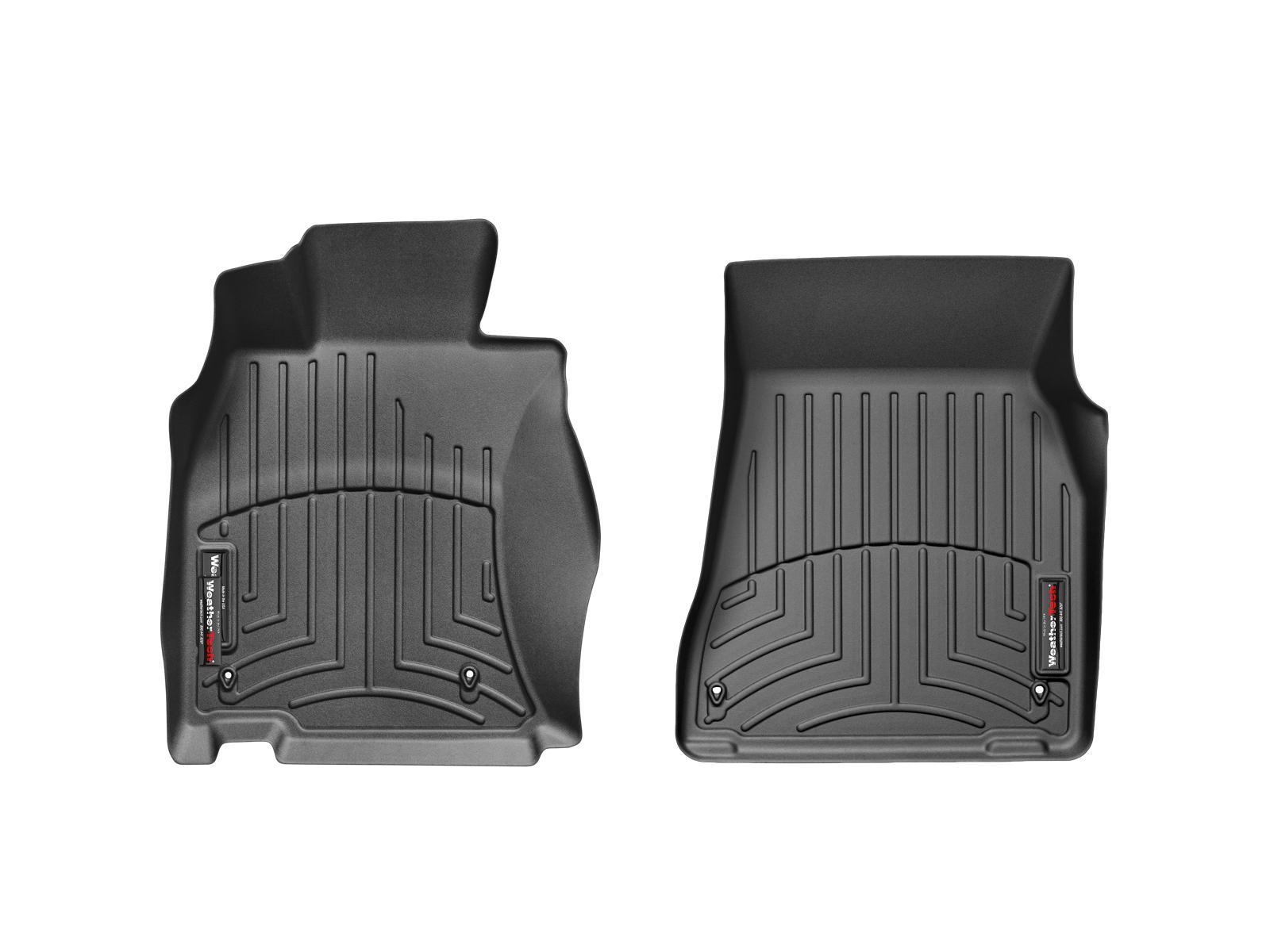 Tappeti gomma su misura bordo alto Lexus LS 07>12 Nero A2065