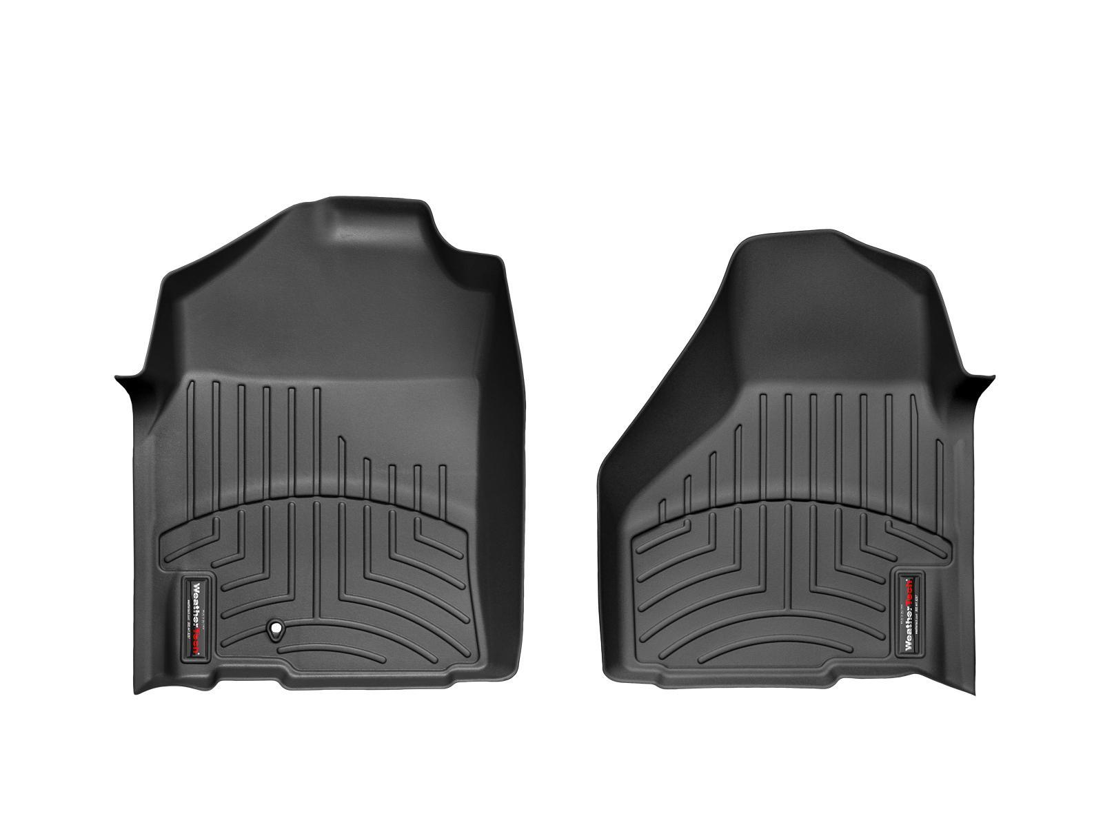 Tappeti gomma su misura bordo alto RAM Ram 1500 09>11 Nero A3177