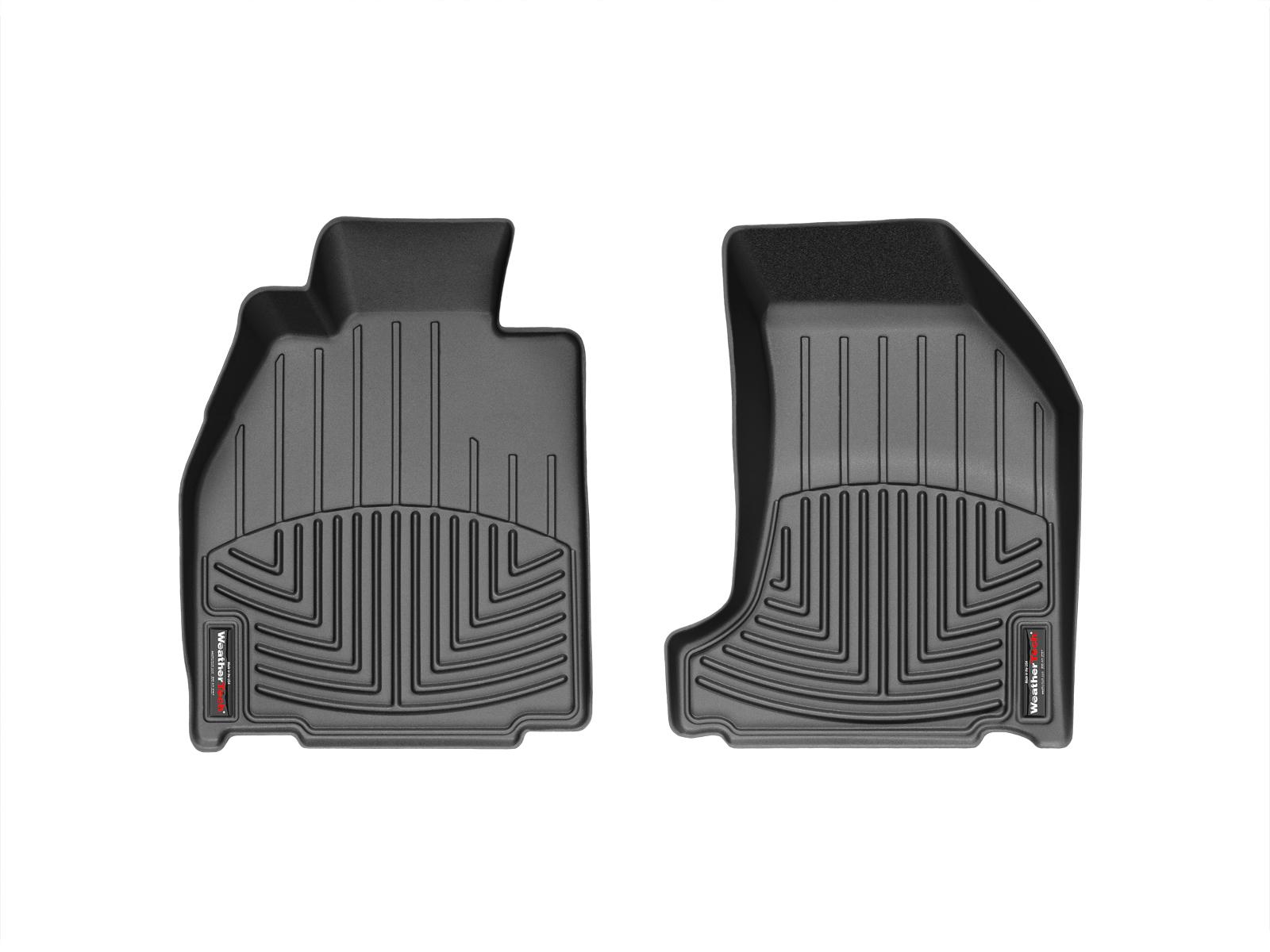 Tappeti gomma su misura bordo alto Porsche® 911® (997) 05>11 Nero A3085