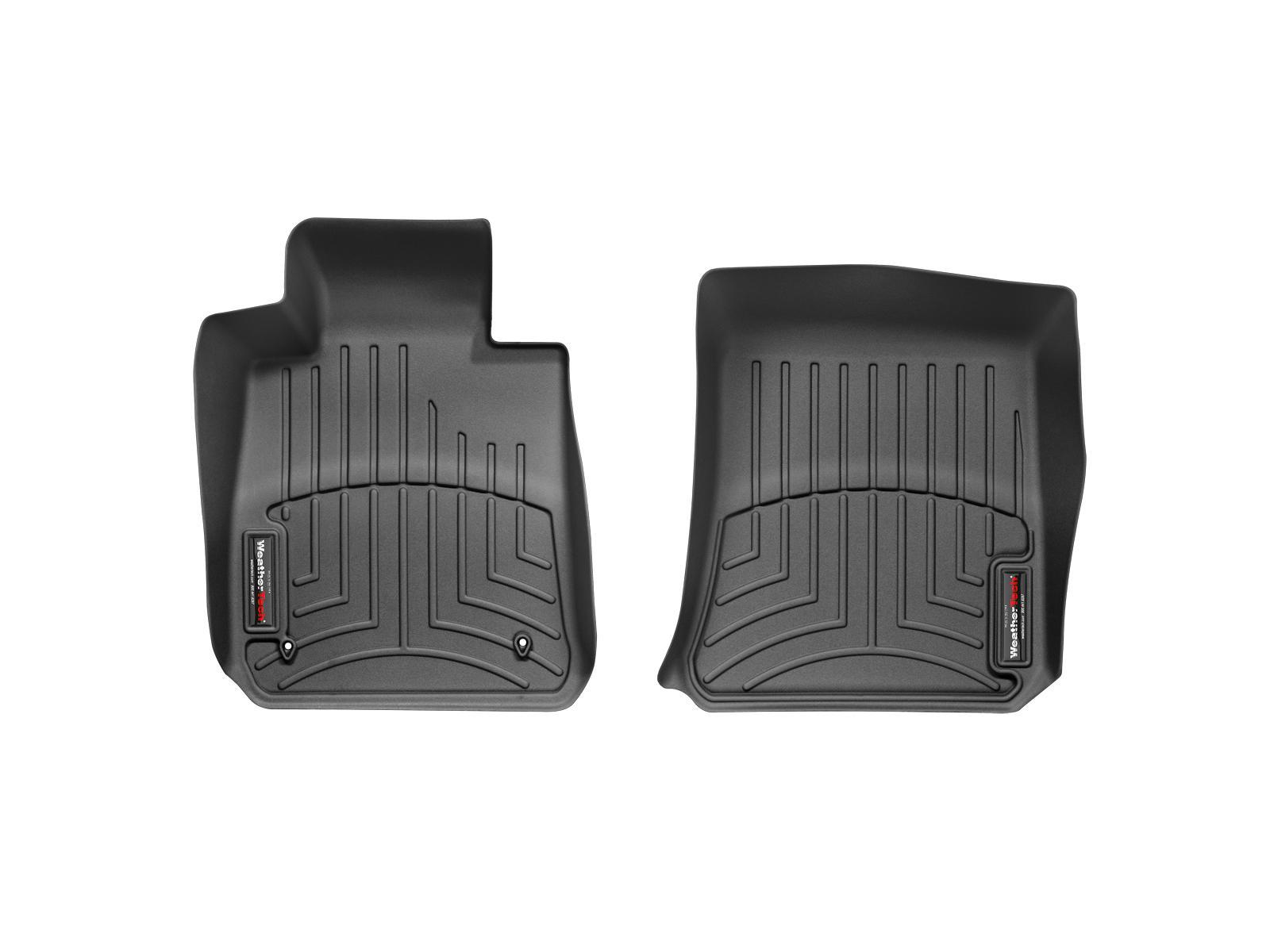 BMW Serie 1 (E81/E82/E87/E88) 04>11 Tappeti gomma su misura bordo alto nero