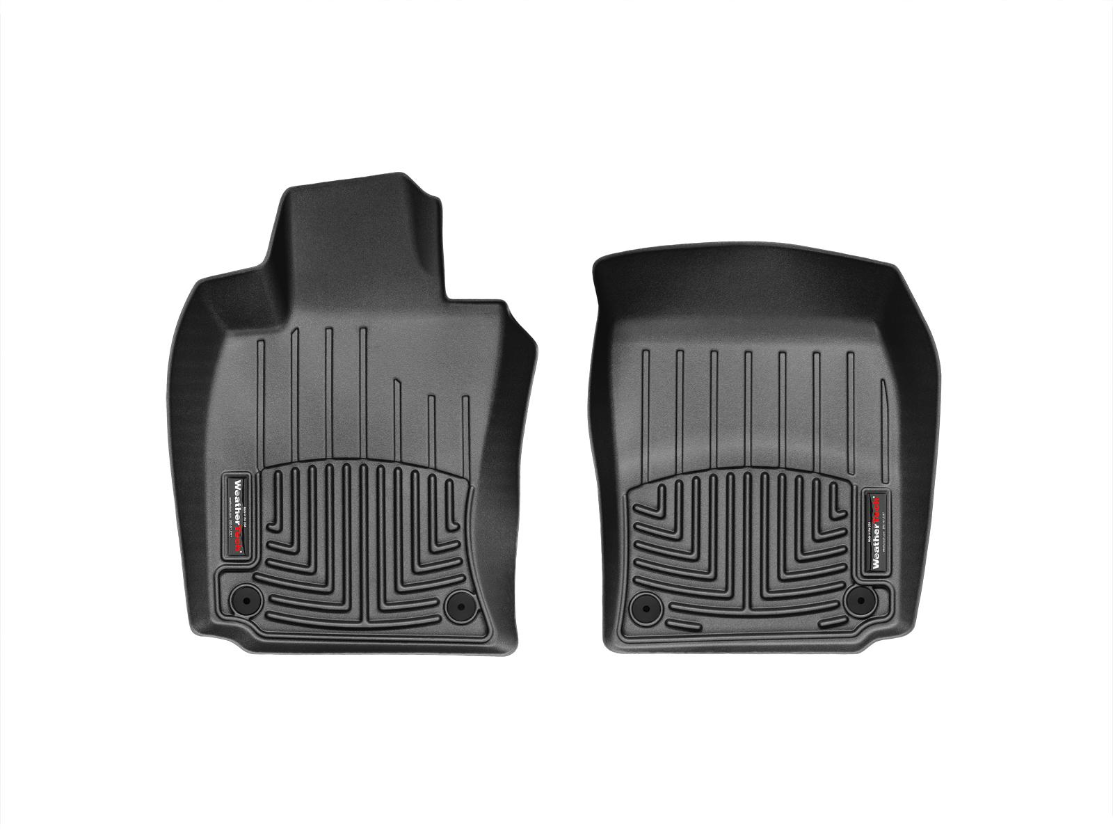 Tappeti gomma su misura bordo alto Porsche® Panamera 10>16 Nero A3174