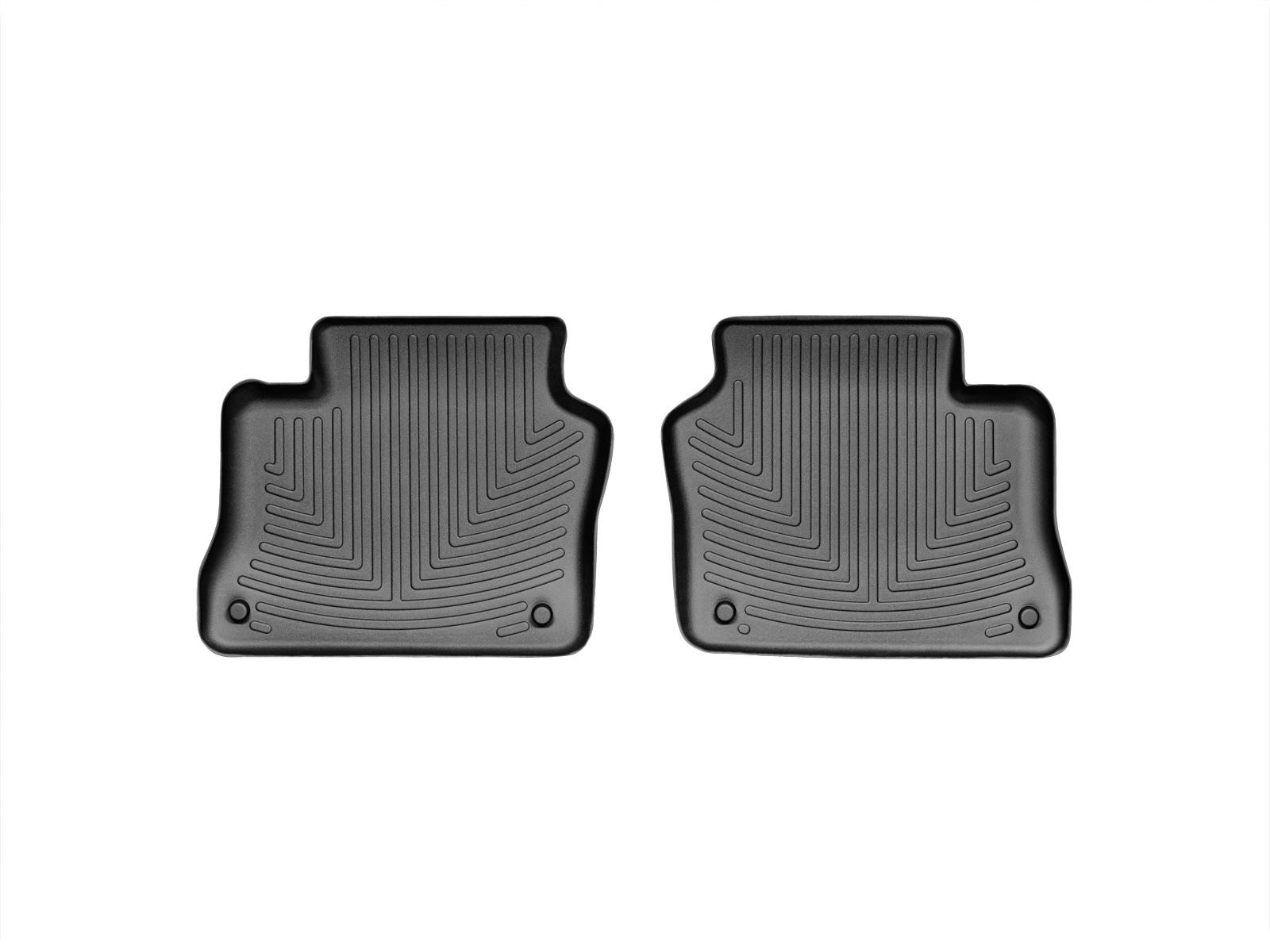 Tappeti gomma su misura bordo alto Porsche® Panamera 10>16 Nero A3176