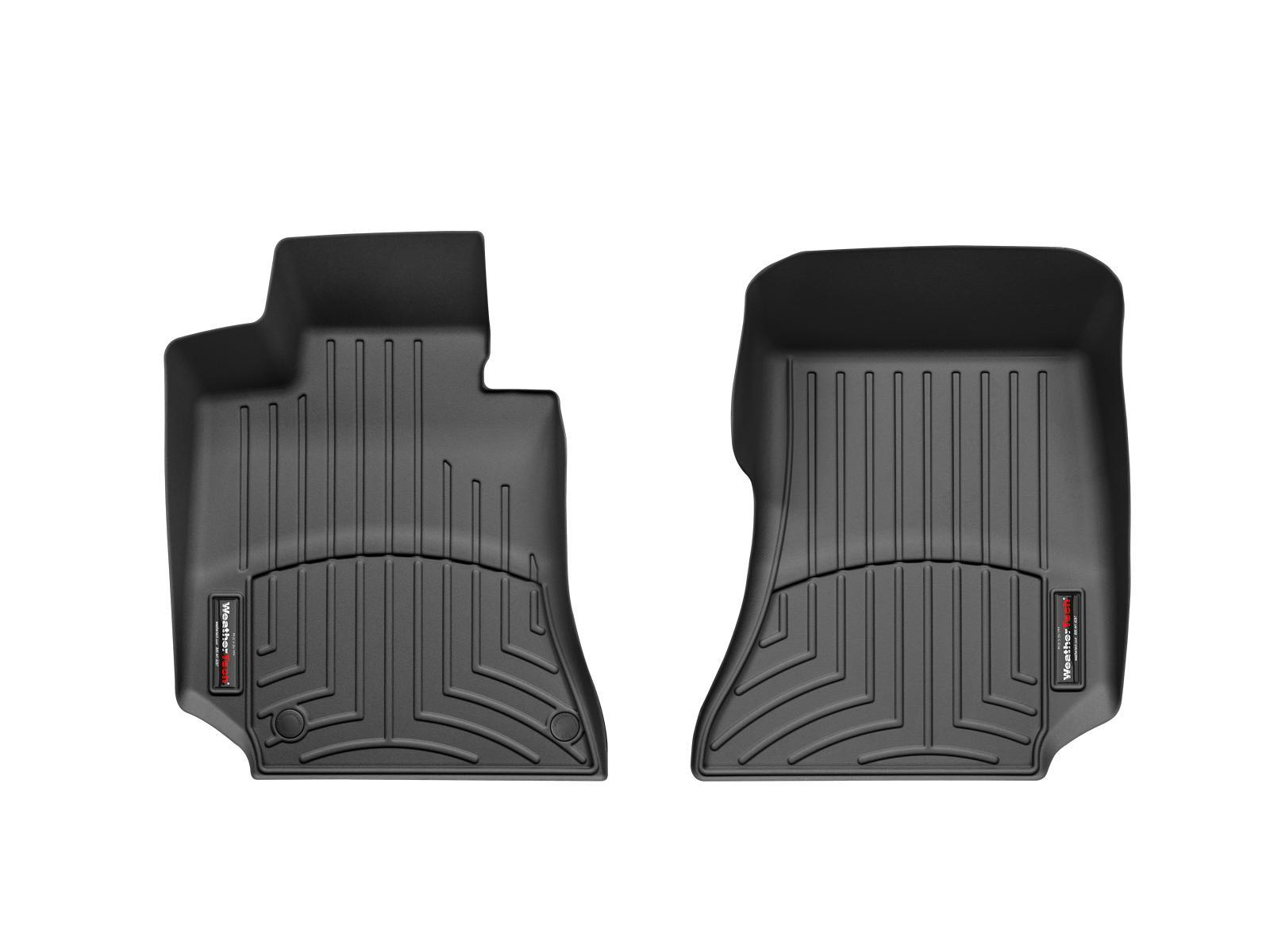 Tappeti gomma su misura bordo alto Mercedes E-Class 12>14 Nero A2407*