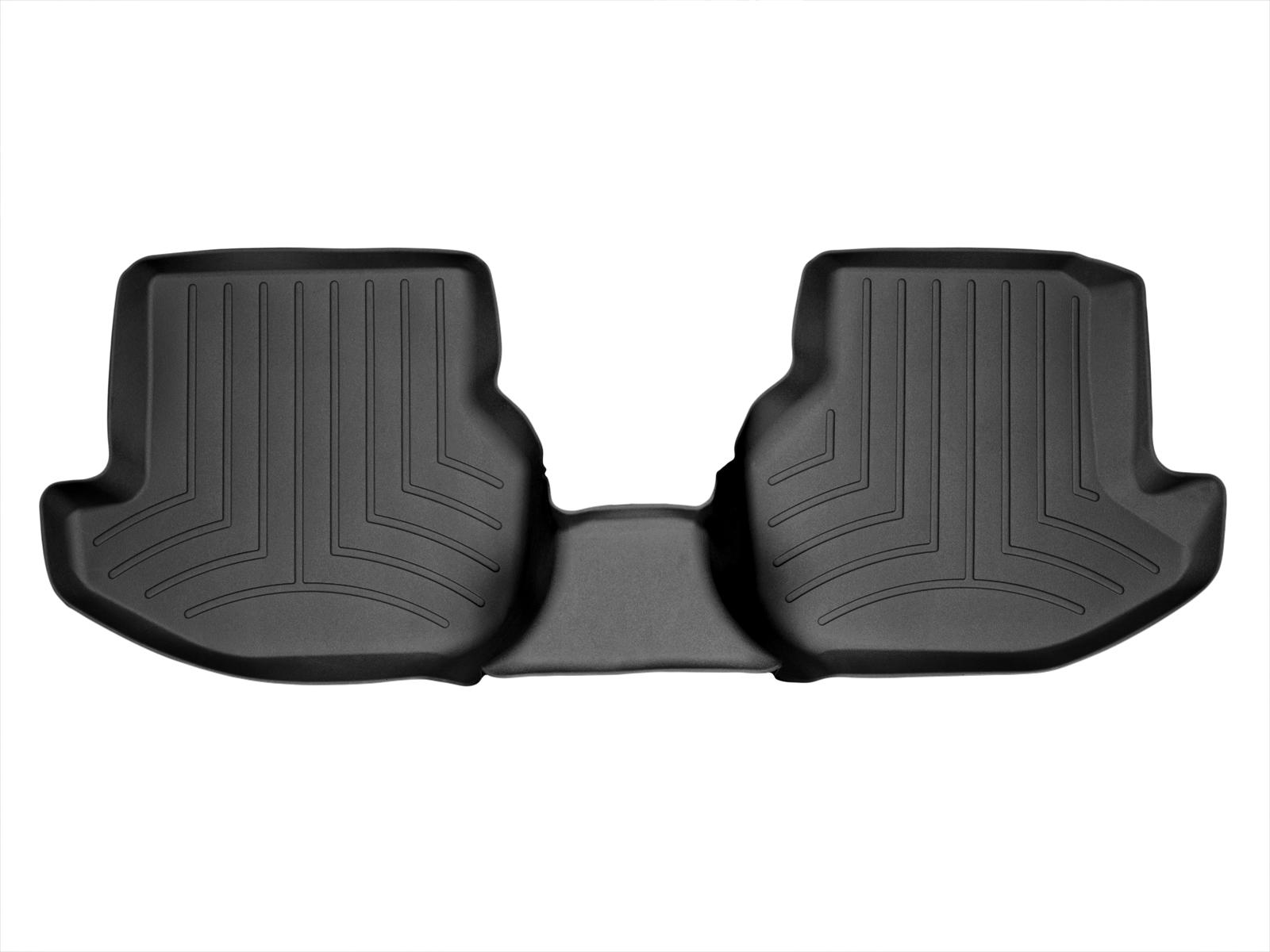 Tappeti gomma su misura bordo alto Volkswagen Eos 07>16 Nero A4012*